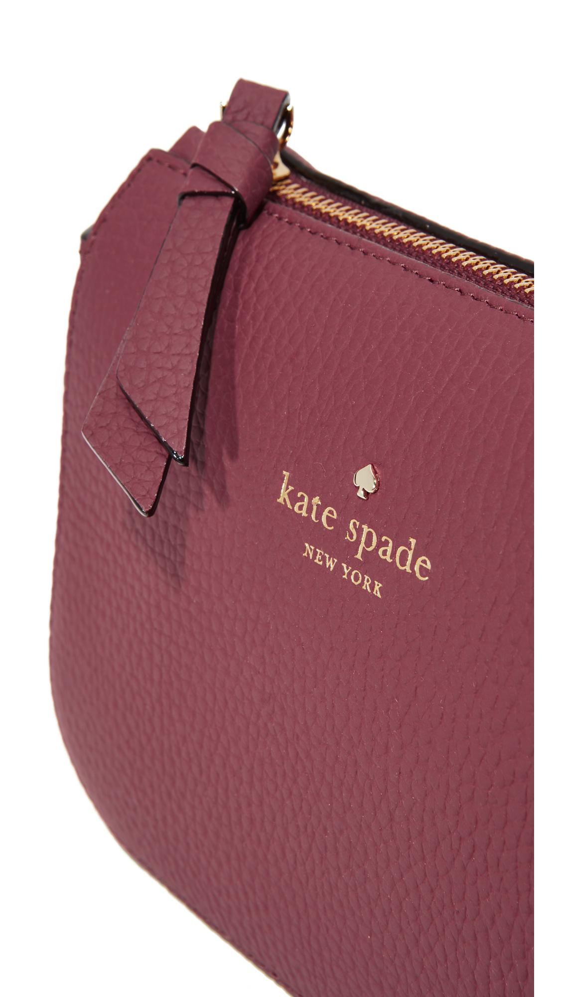 Kate Spade Leather Wendi Cross Body Bag