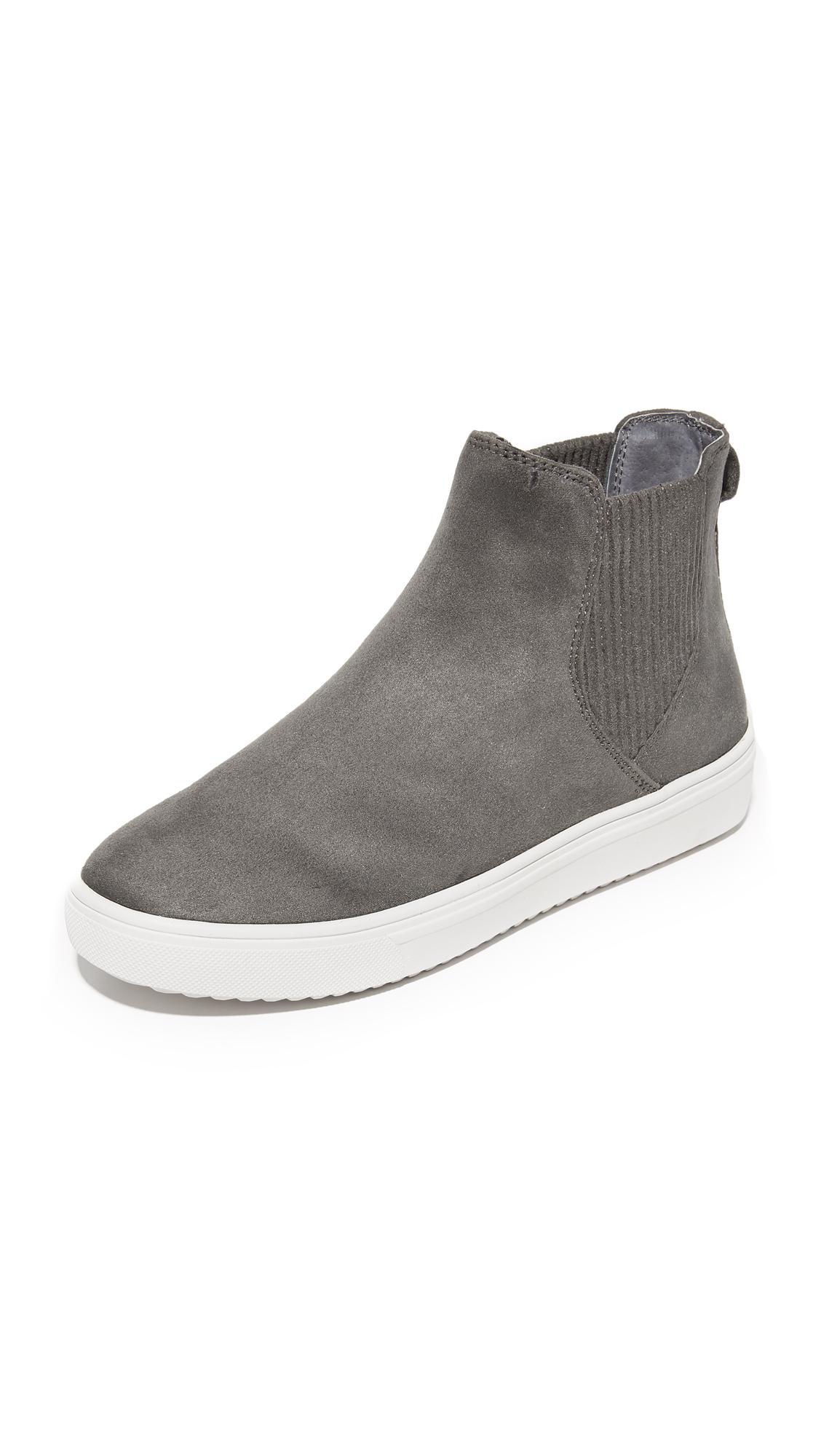 5e05fb4ea88 Lyst - Steven by Steve Madden Coal Platform Chelsea Sneakers in Gray