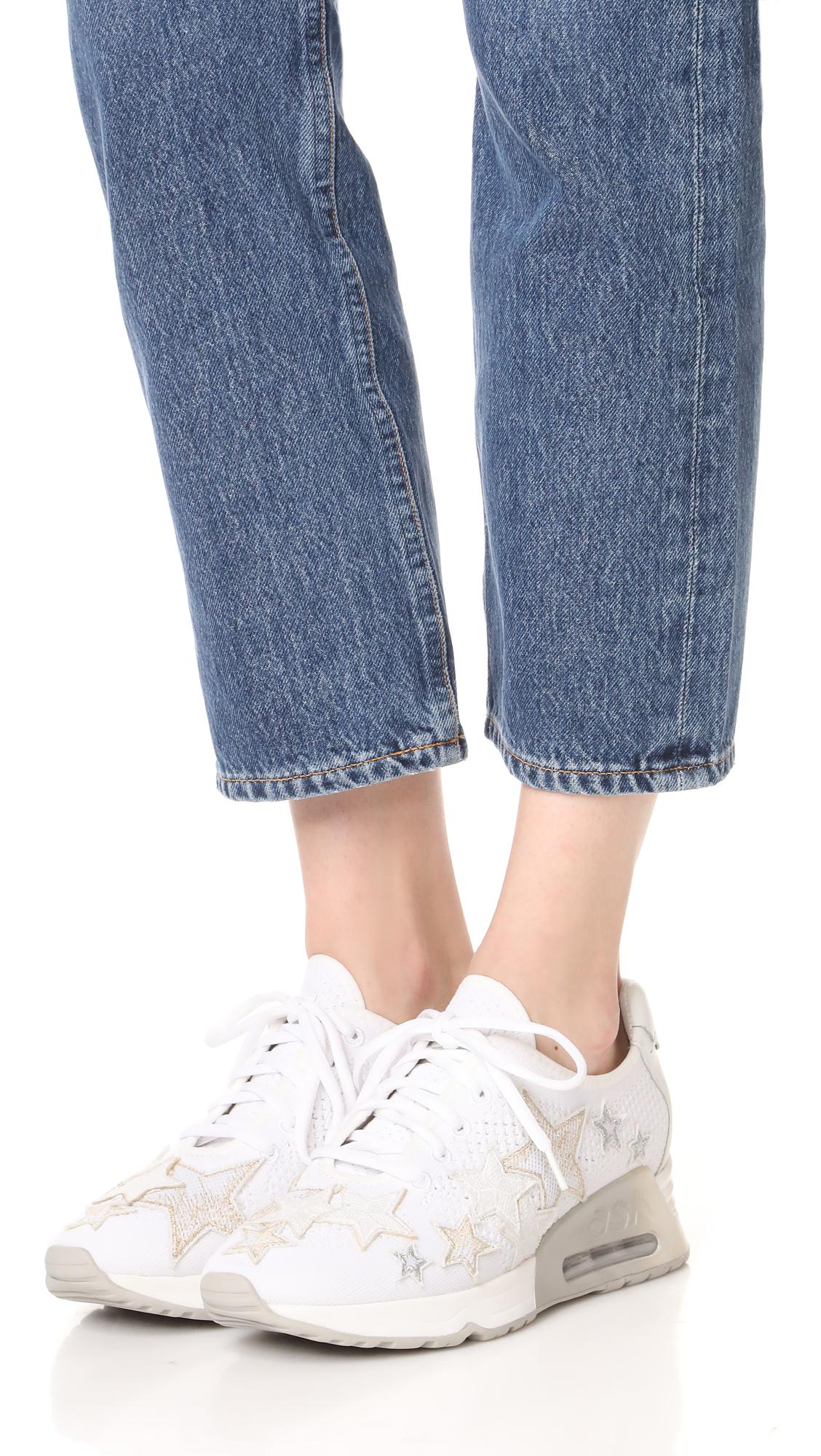 Ash Leather Lucky Star Sneakers in