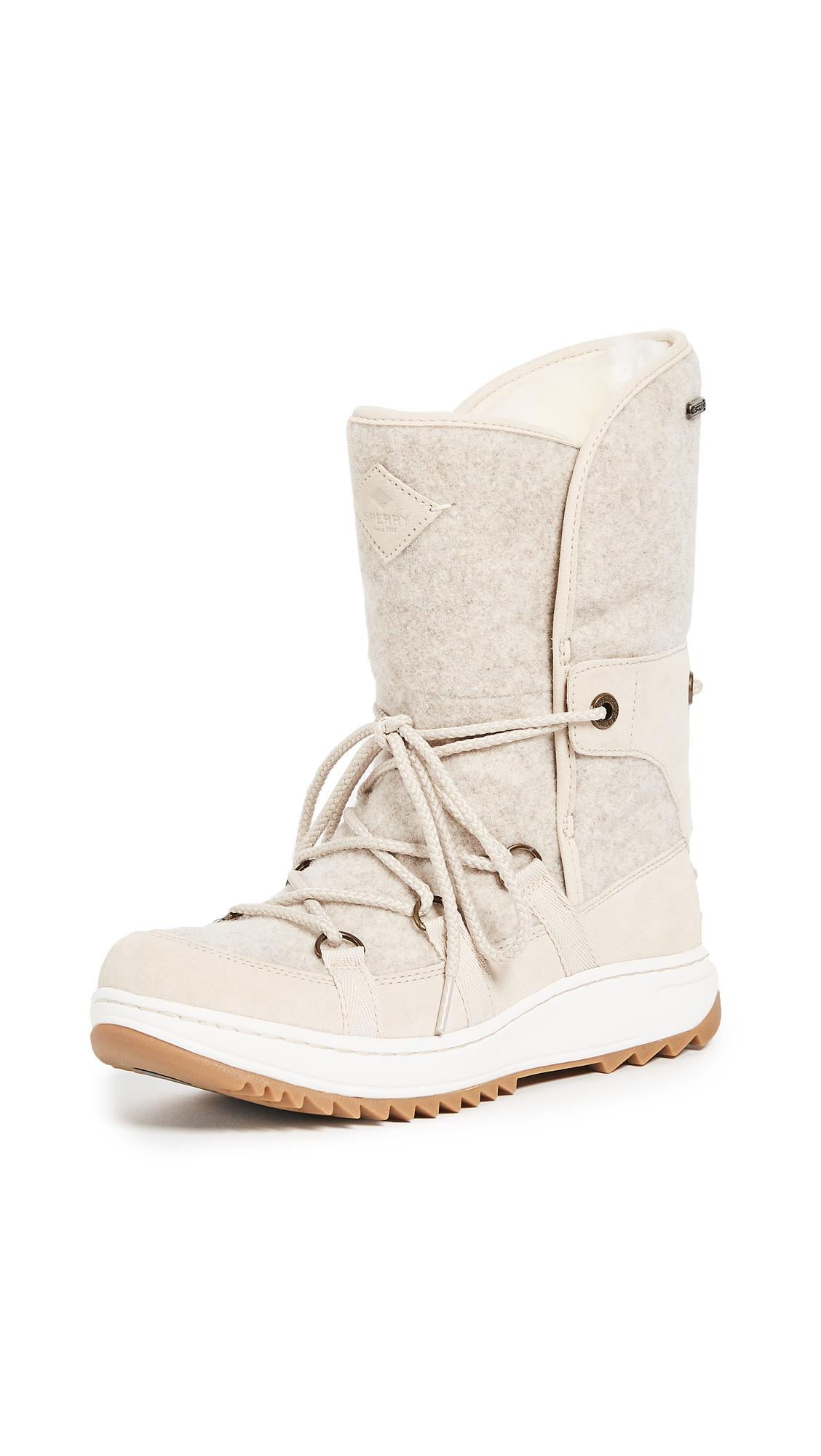 Lyst Sperry Top Sider Powder Ice Cap Boots In White