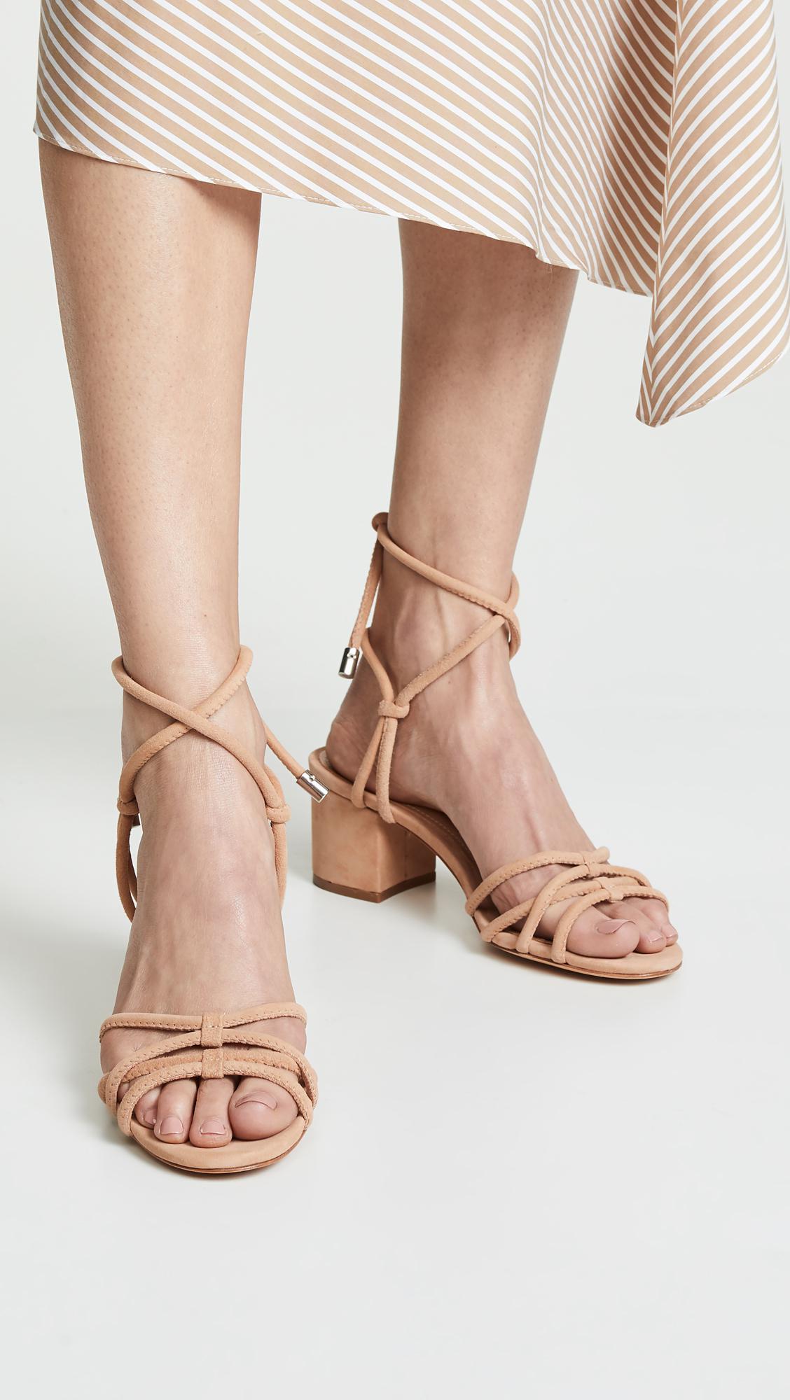 Schutz Leather Marcella Strappy Sandals