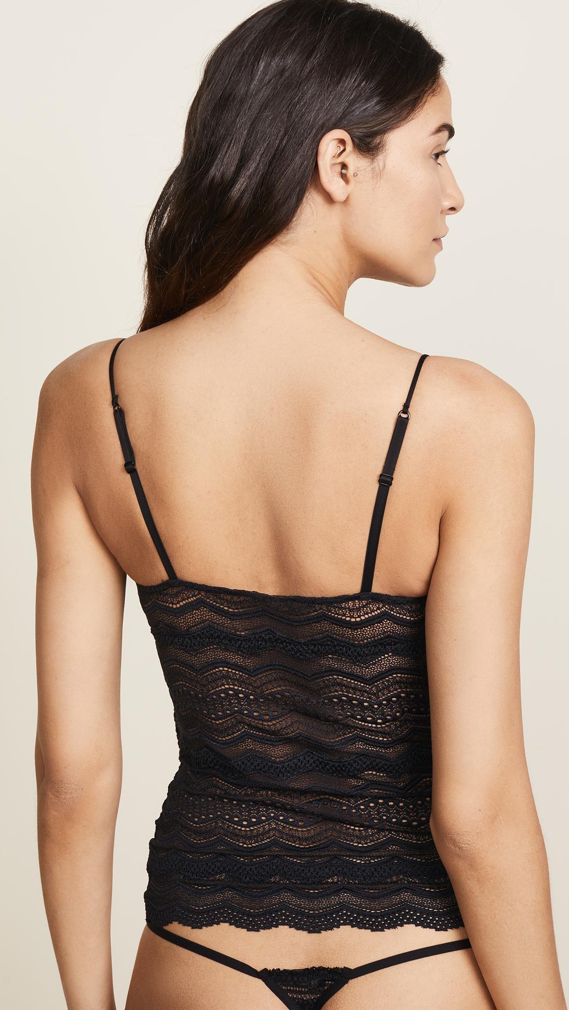 88efd461d468b Cosabella Ceylon Long Camisole in Black - Save 7% - Lyst
