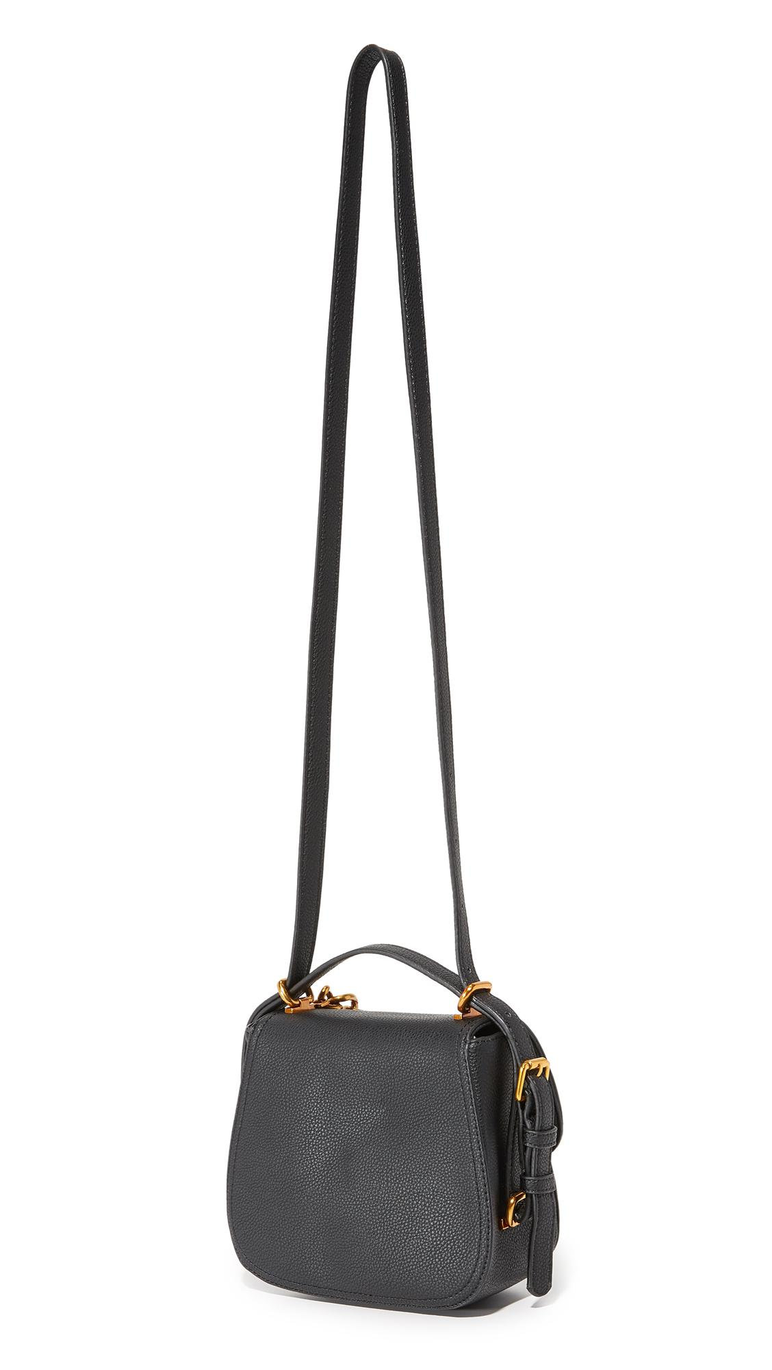 Deux Lux Roma Chain Cross Body Bag in Black