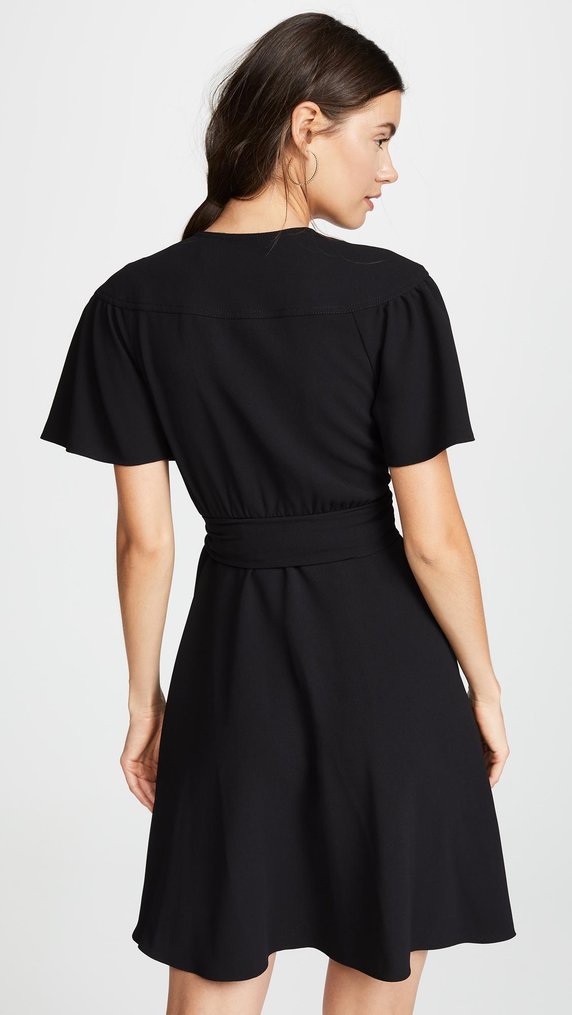 6b53413e5f Diane von Furstenberg - Black Zella Dress - Lyst. View fullscreen