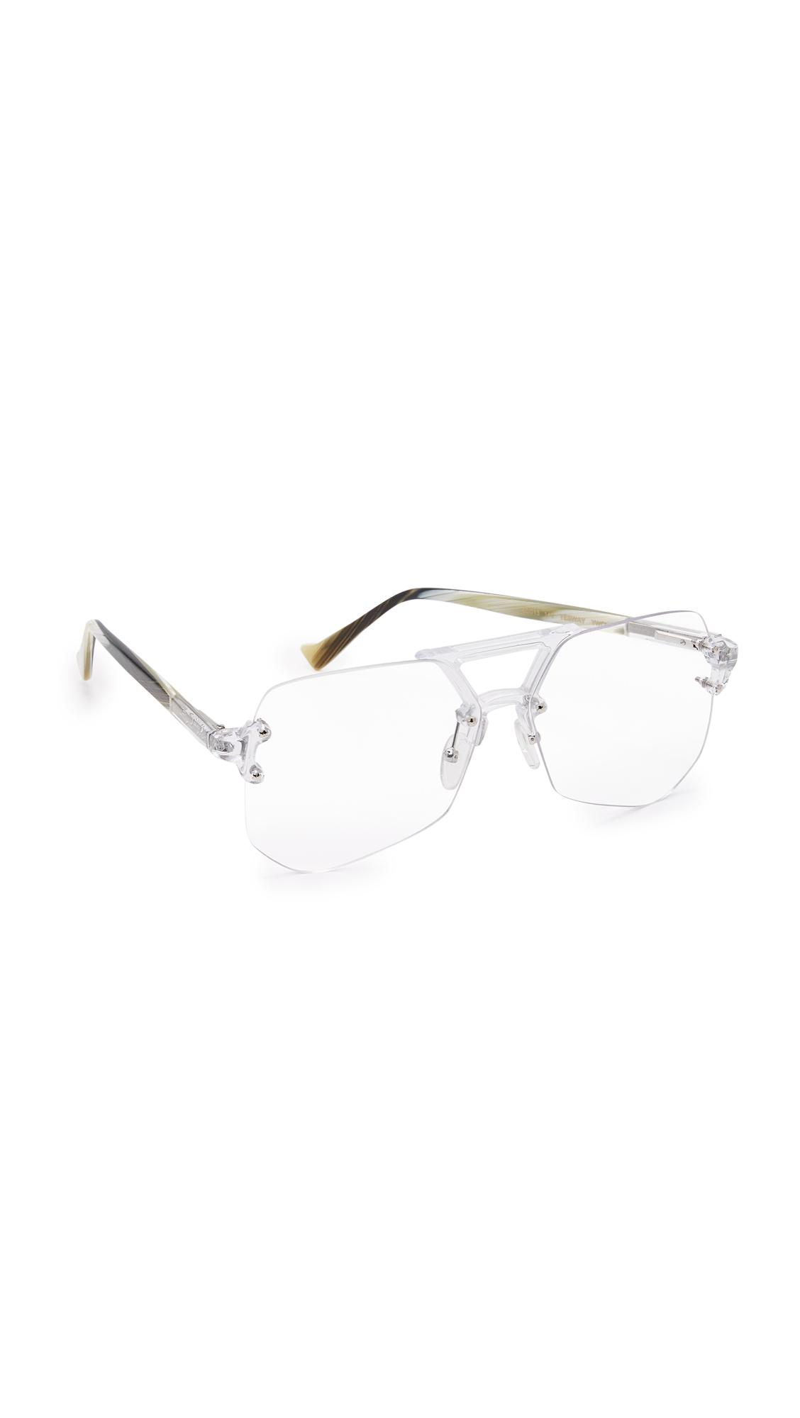 24a66b04b4 Lyst - Grey Ant Yes Way Glasses