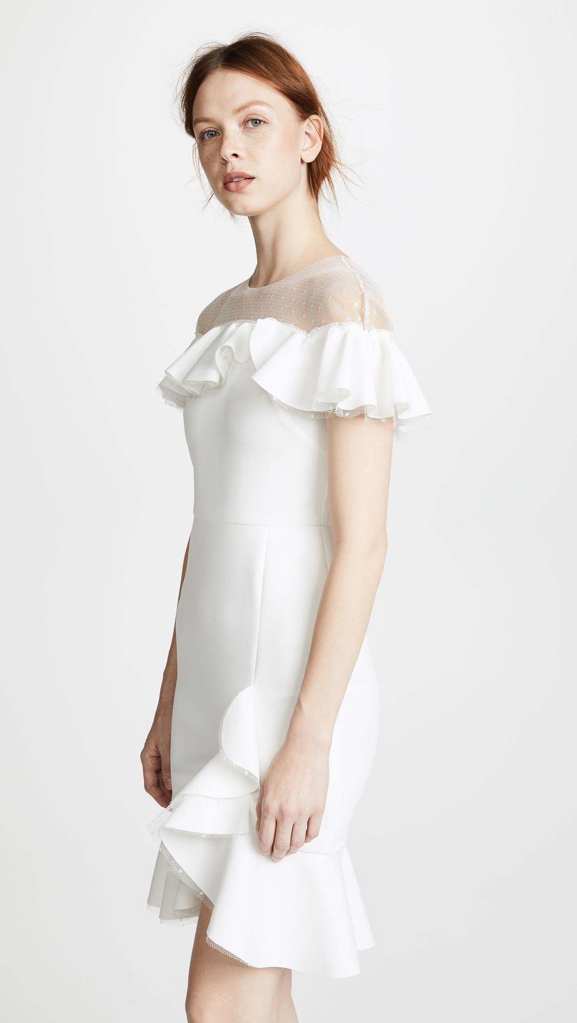 72692de111921 Gallery. Previously sold at: Shopbop · Women's Neoprene Dresses Women's  White Cocktail Dresses
