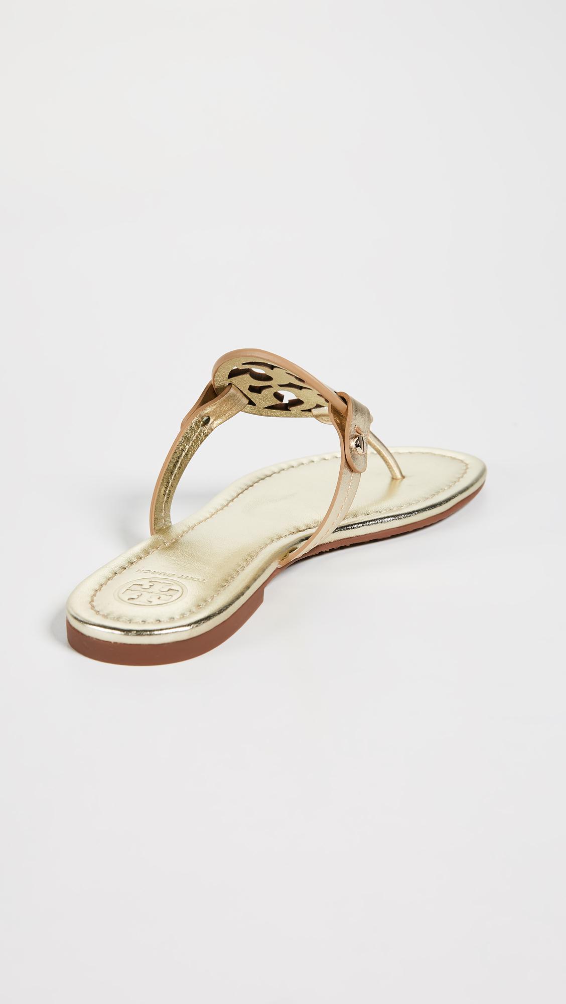 e32ba1862198ef Tory Burch - Multicolor Miller Thong Sandals - Lyst. View fullscreen