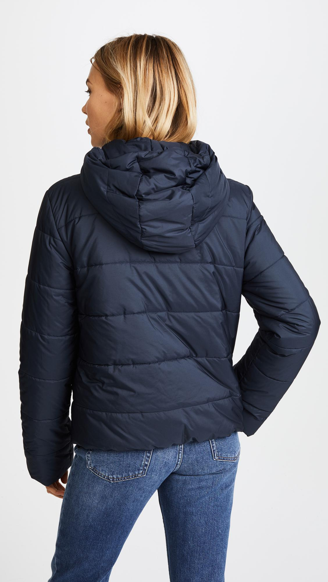 Lyst A P C Geneva Puffer Jacket In Blue