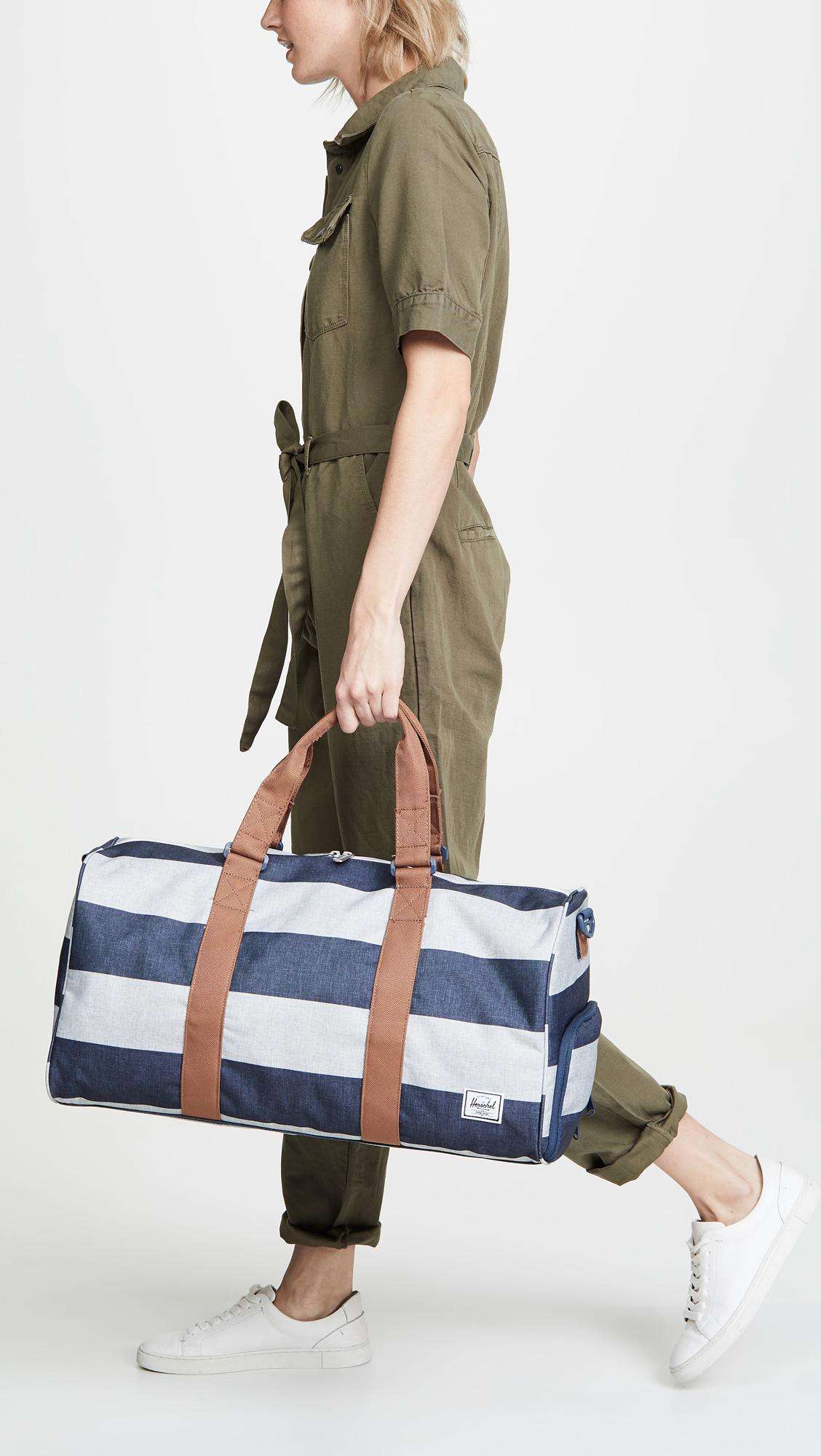 58c27157f39a Herschel Supply Co. Blue Novel Mid Volume Duffel Bag