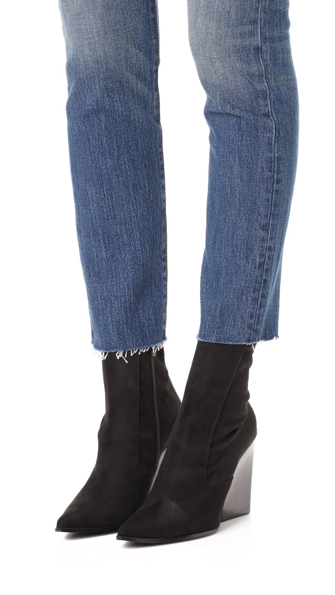Kendall + Kylie Fallyn Sock Booties in