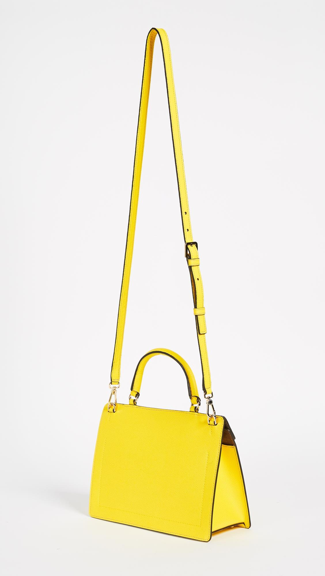 ce1bc34fef10d Lyst - Furla Like Small Top Handle Bag in Yellow