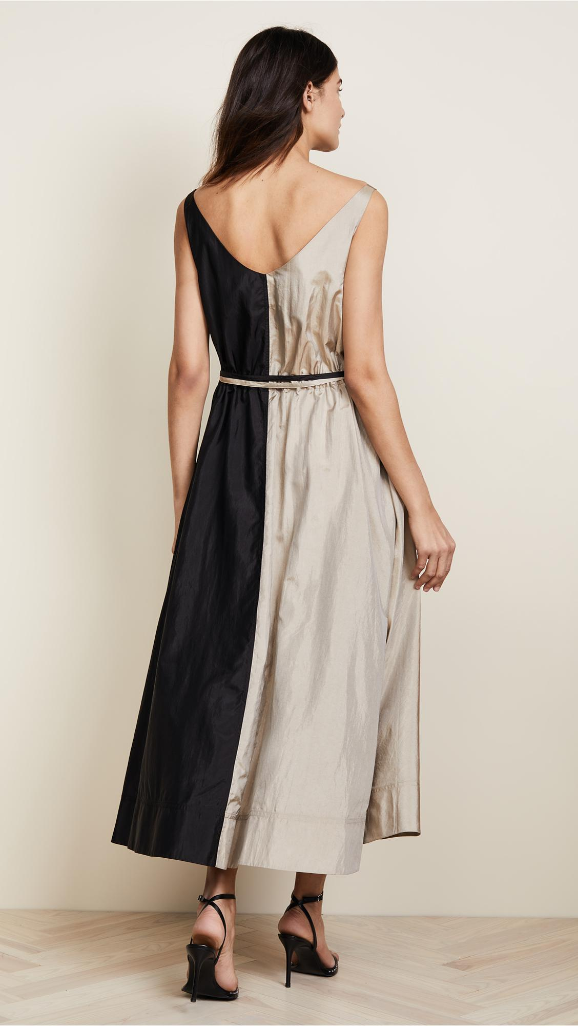 Nina Ricci Synthetic Parachute Dress In Black Lyst
