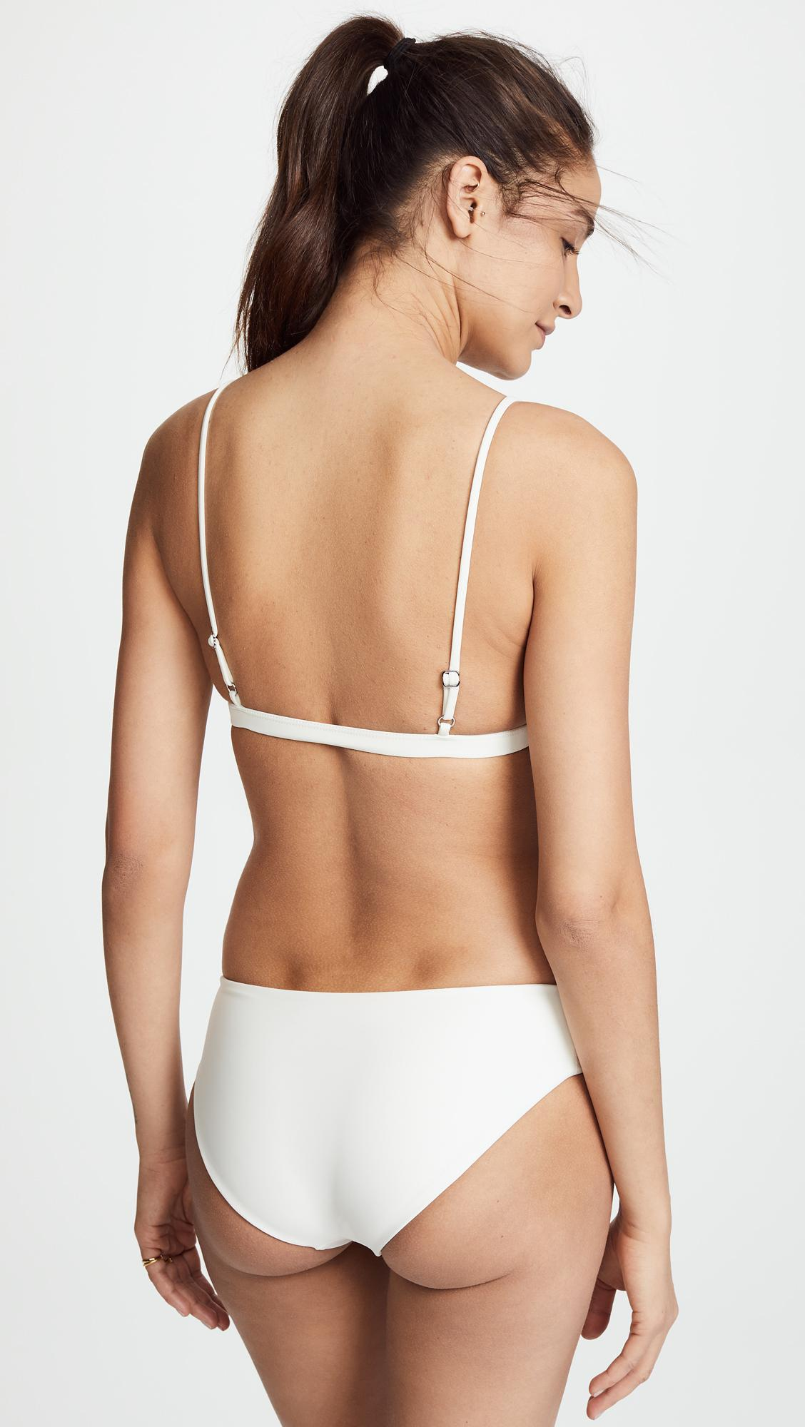 2a54999998 Mikoh Swimwear Belize Triangle Bikini Top - Lyst