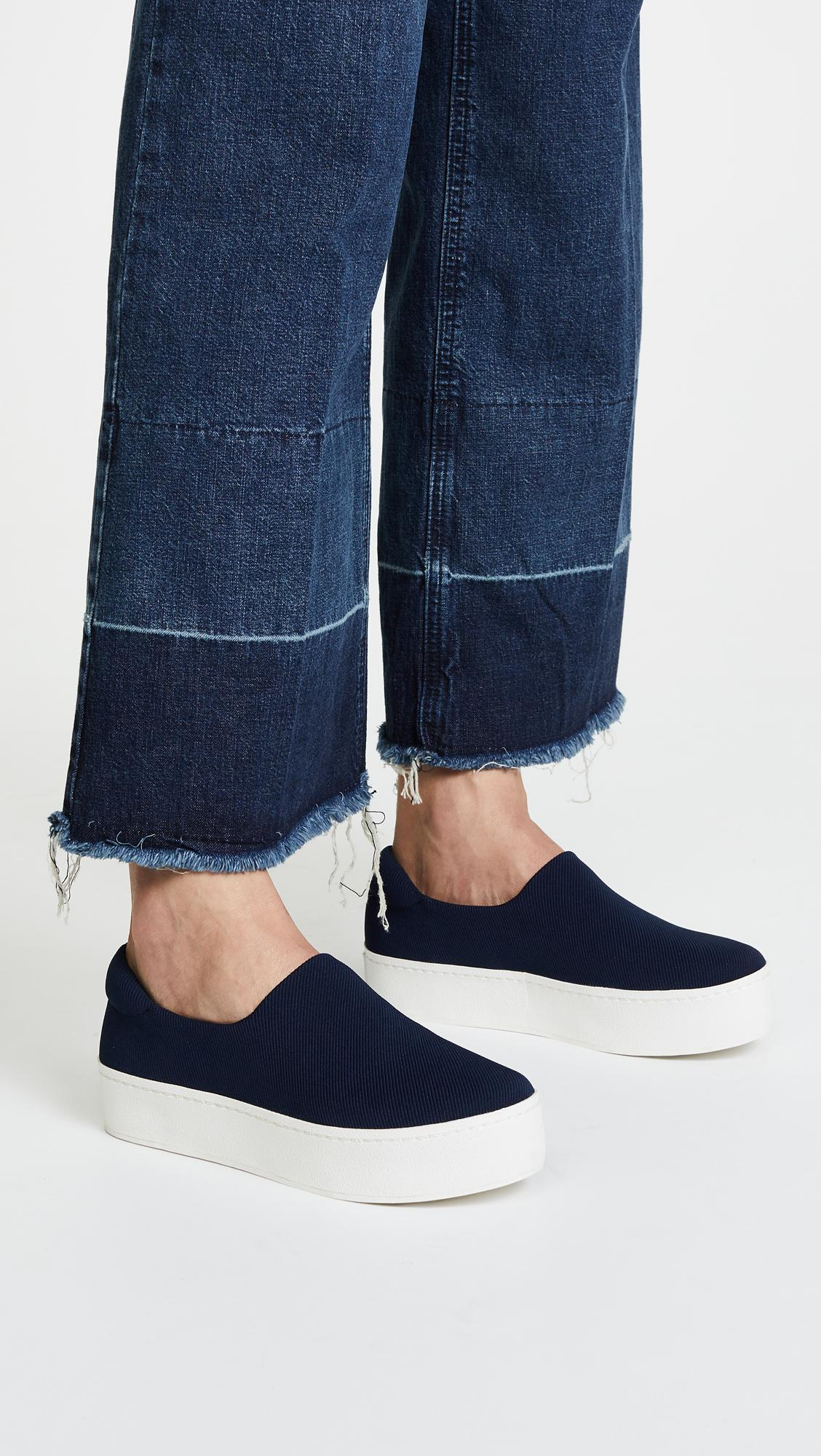 Navy Cici Slip-On Sneakers Opening Ceremony STmAYuTcR
