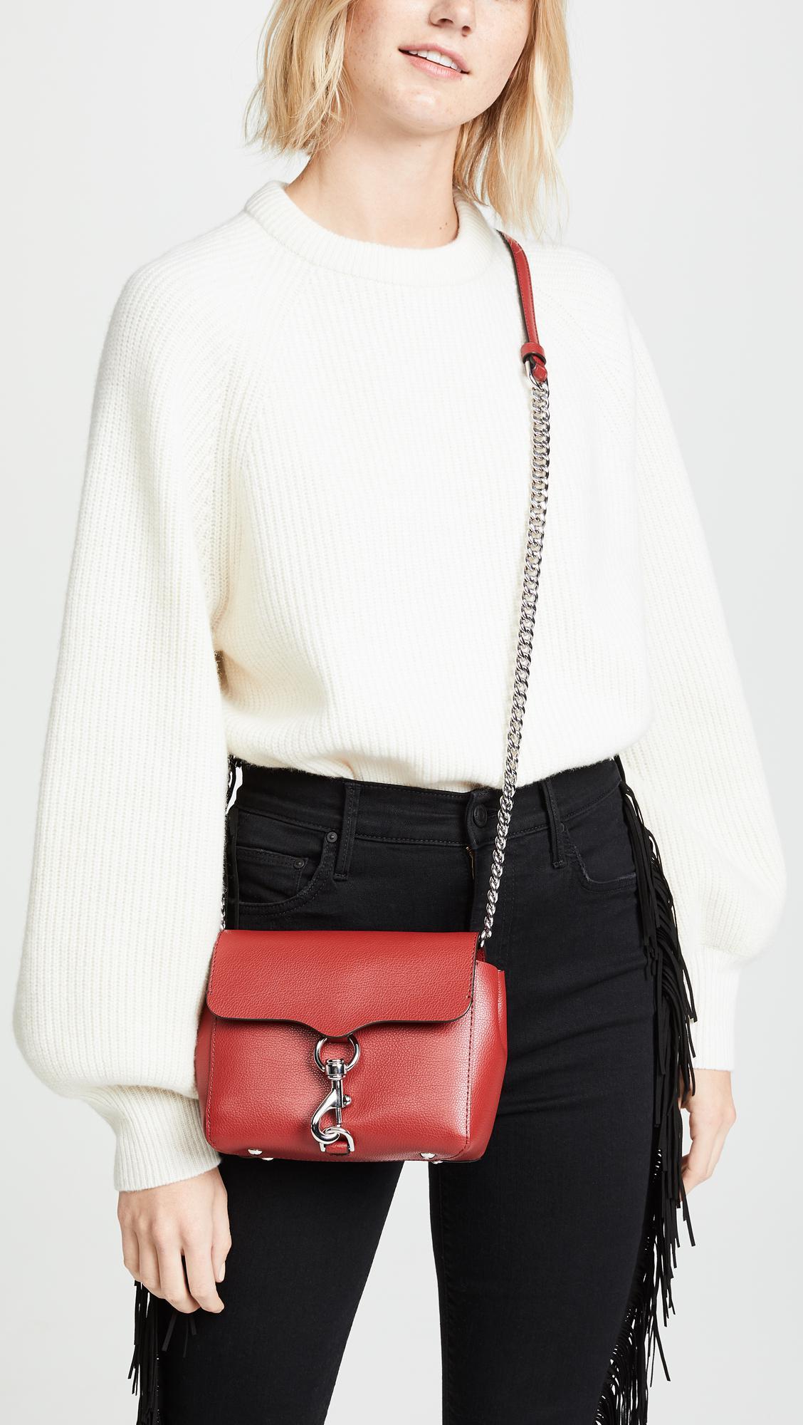 2167f4d8d5d0e Rebecca Minkoff Stella Cross Body Bag in Red - Lyst