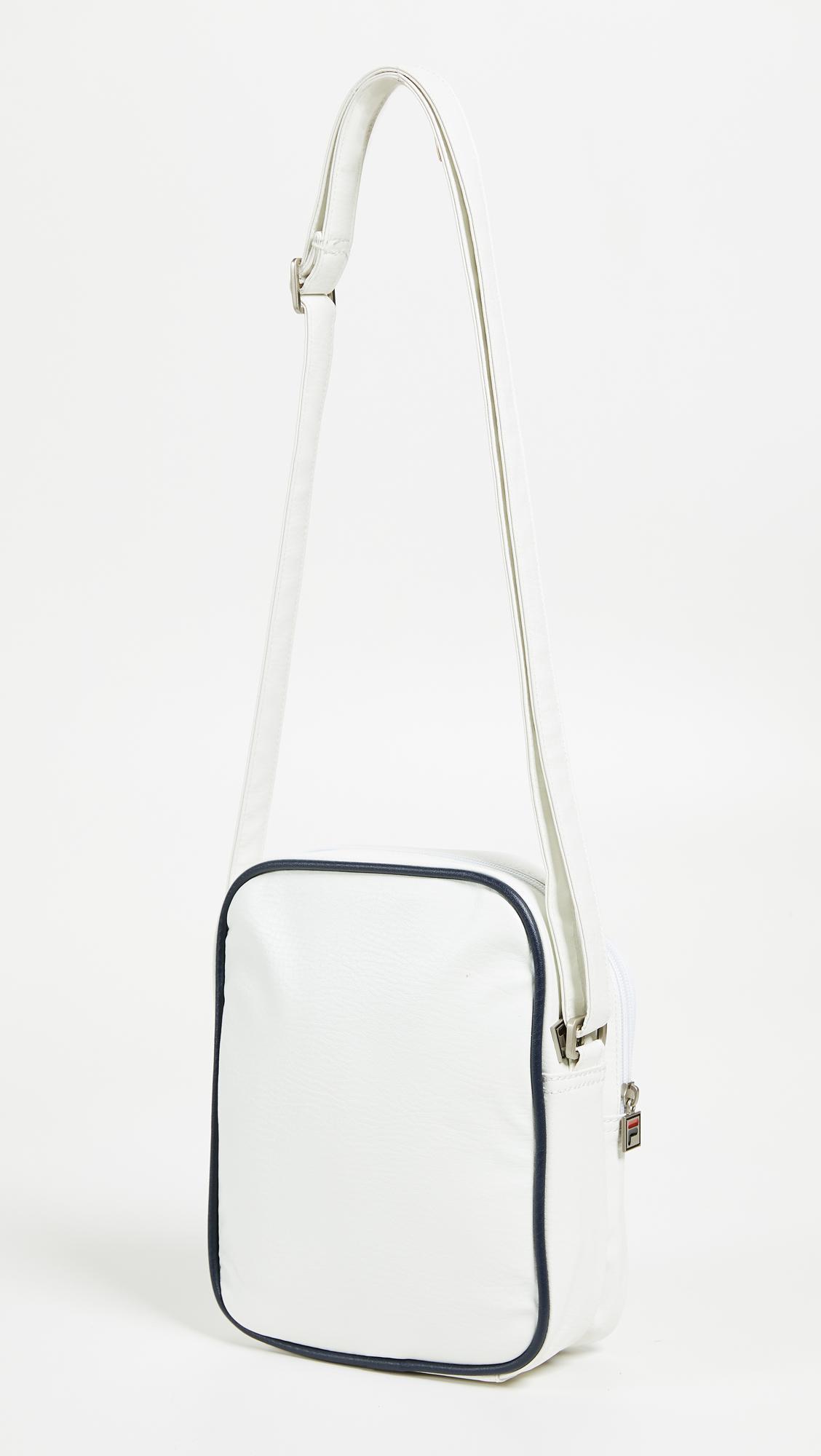 124a5699d Fila Buster Shoulder Bag in White - Lyst