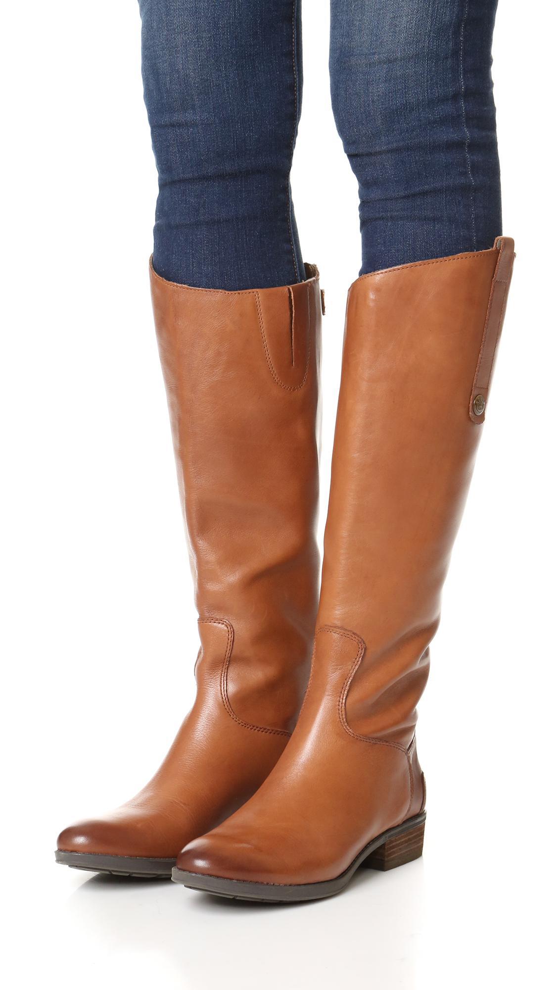 c4e5c00947105 Sam Edelman - Brown Penny Riding Boots - Lyst. View fullscreen