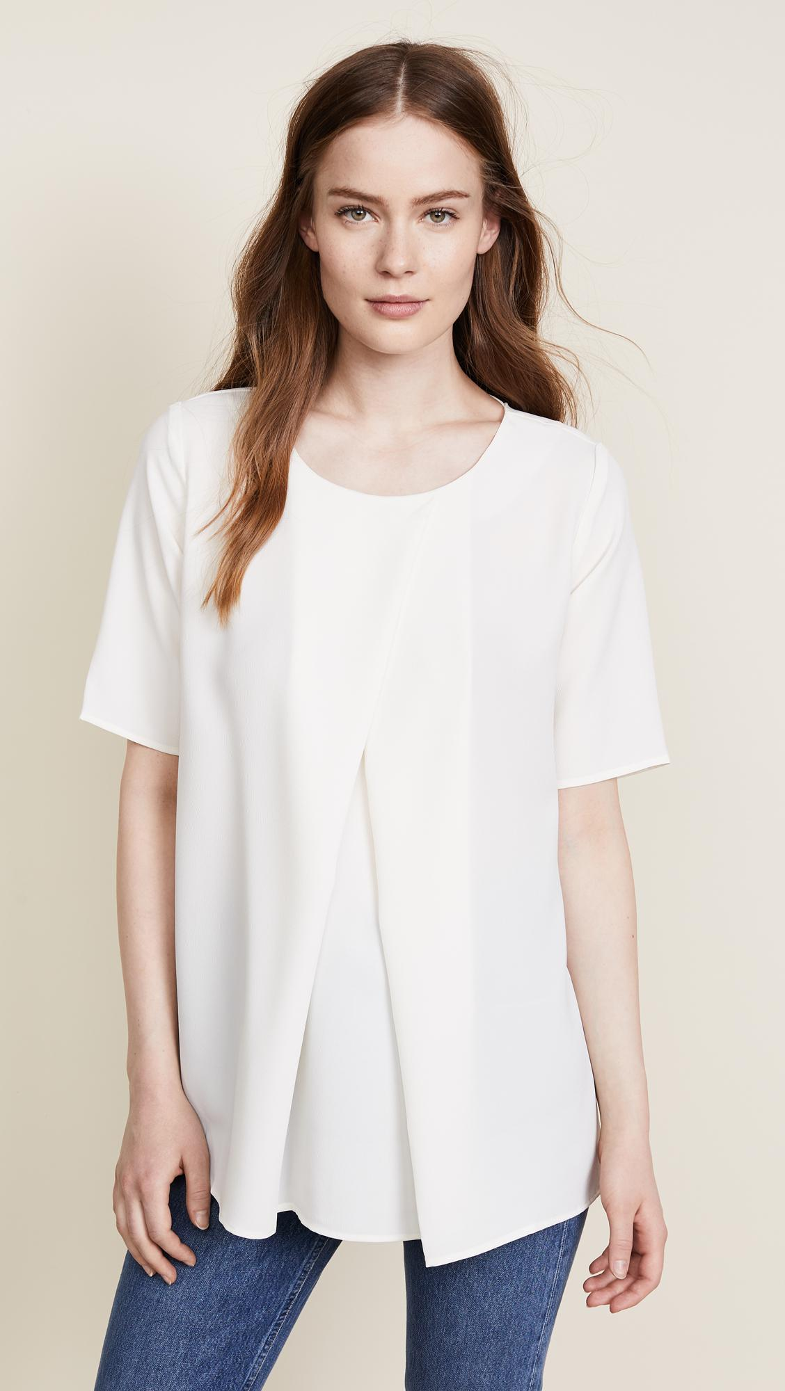 HATCH Synthetic The Pullover in Ivory (White)