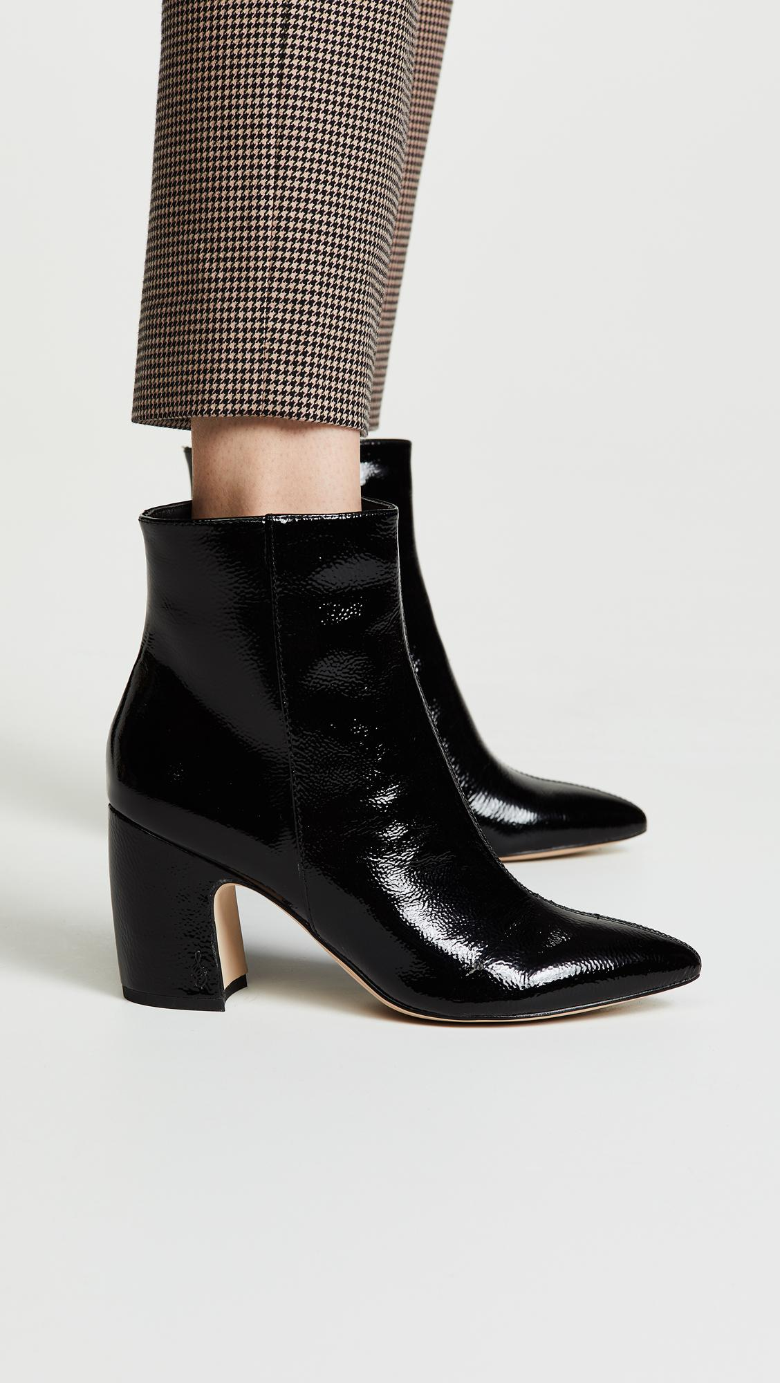 Sam Edelman Leather Hilty Booties in