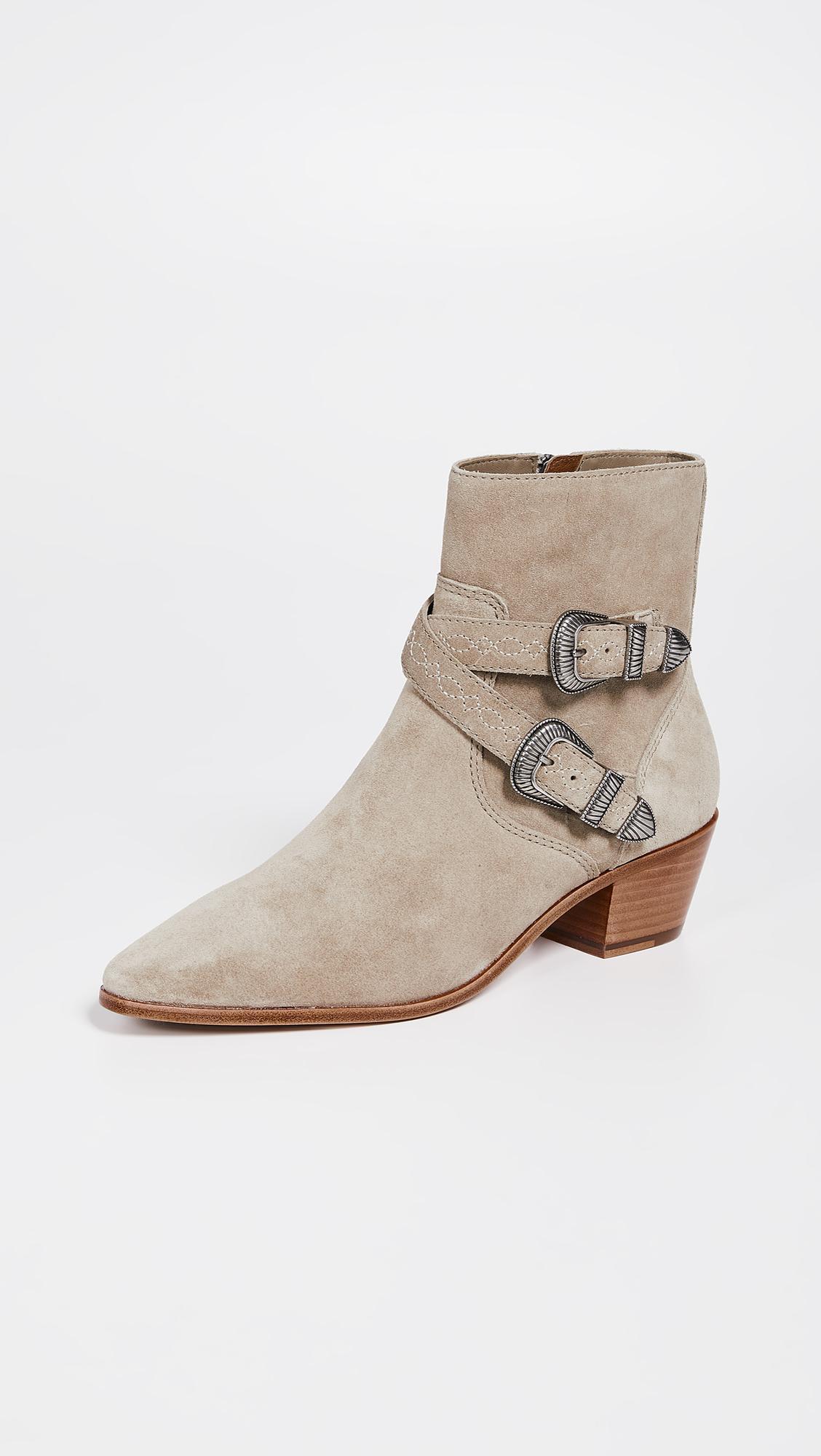 9d1d309bb4ca Frye. Women s Ellen Buckle Short Boots