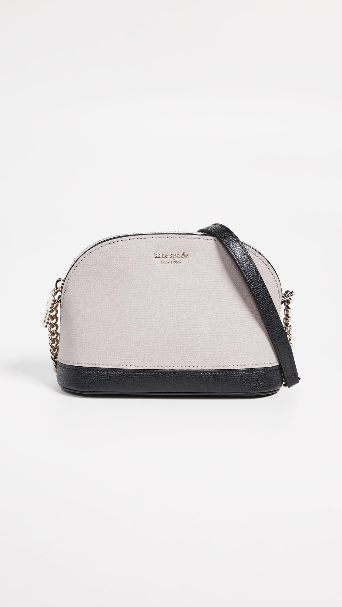 cd6f0df0fe3 Women's Black Sylvia Small Dome Crossbody Bag