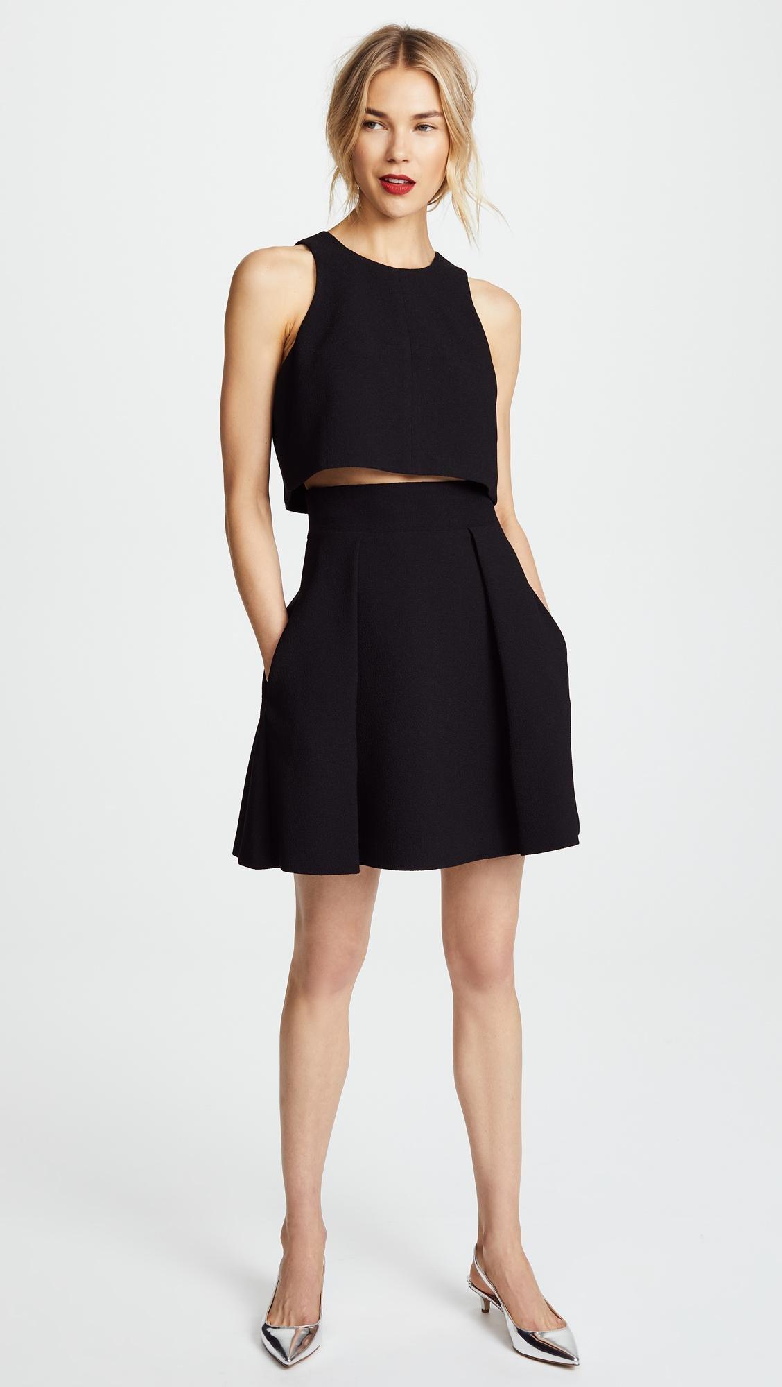 eaf50236e9c Black Halo Sanibel 2 Piece Mini Dress in Black - Lyst