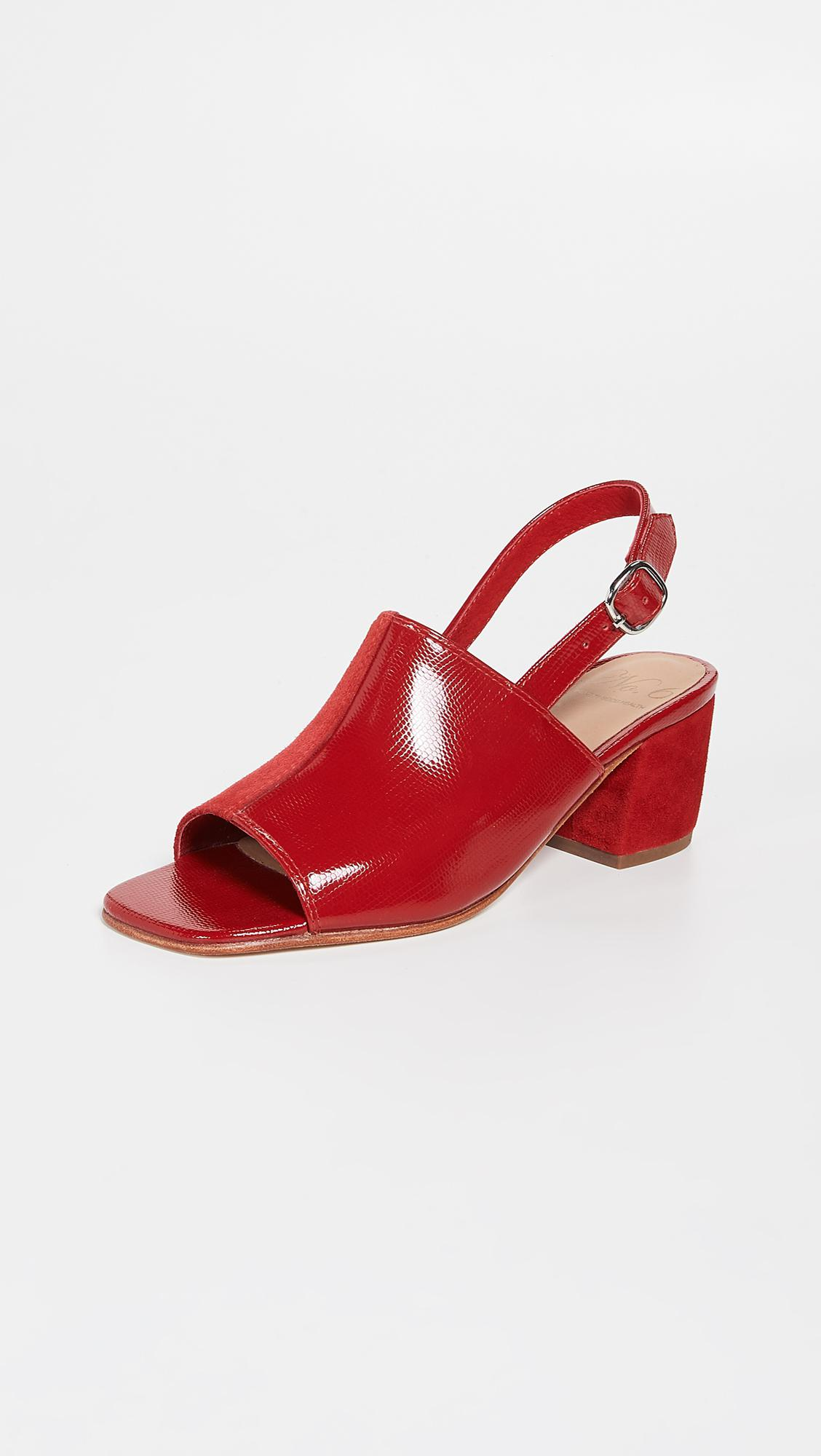 e434cd1bd4da98 Lyst - No. 6 Leah Sandals in Red