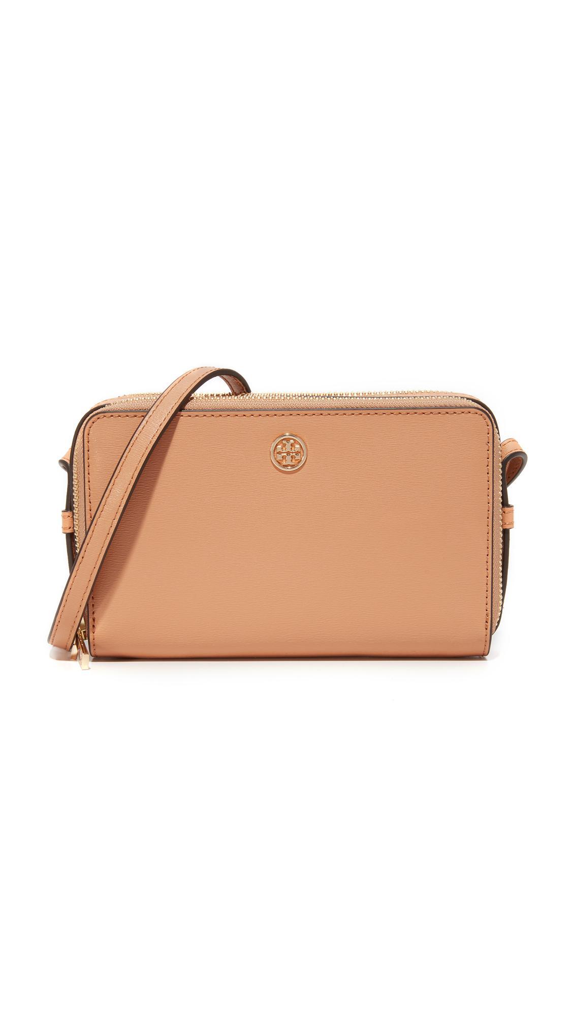 0dc814a1fc19 Lyst - Tory Burch Parker Double Zip Mini Bag