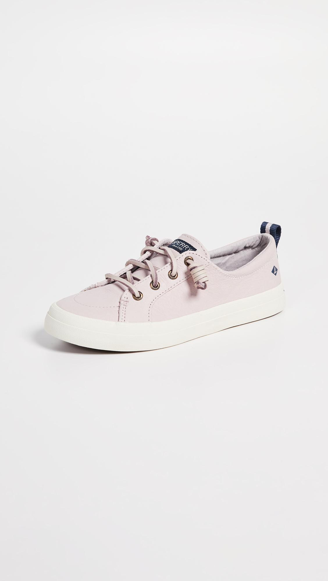 sperry women's crest vibe washable leather sneaker