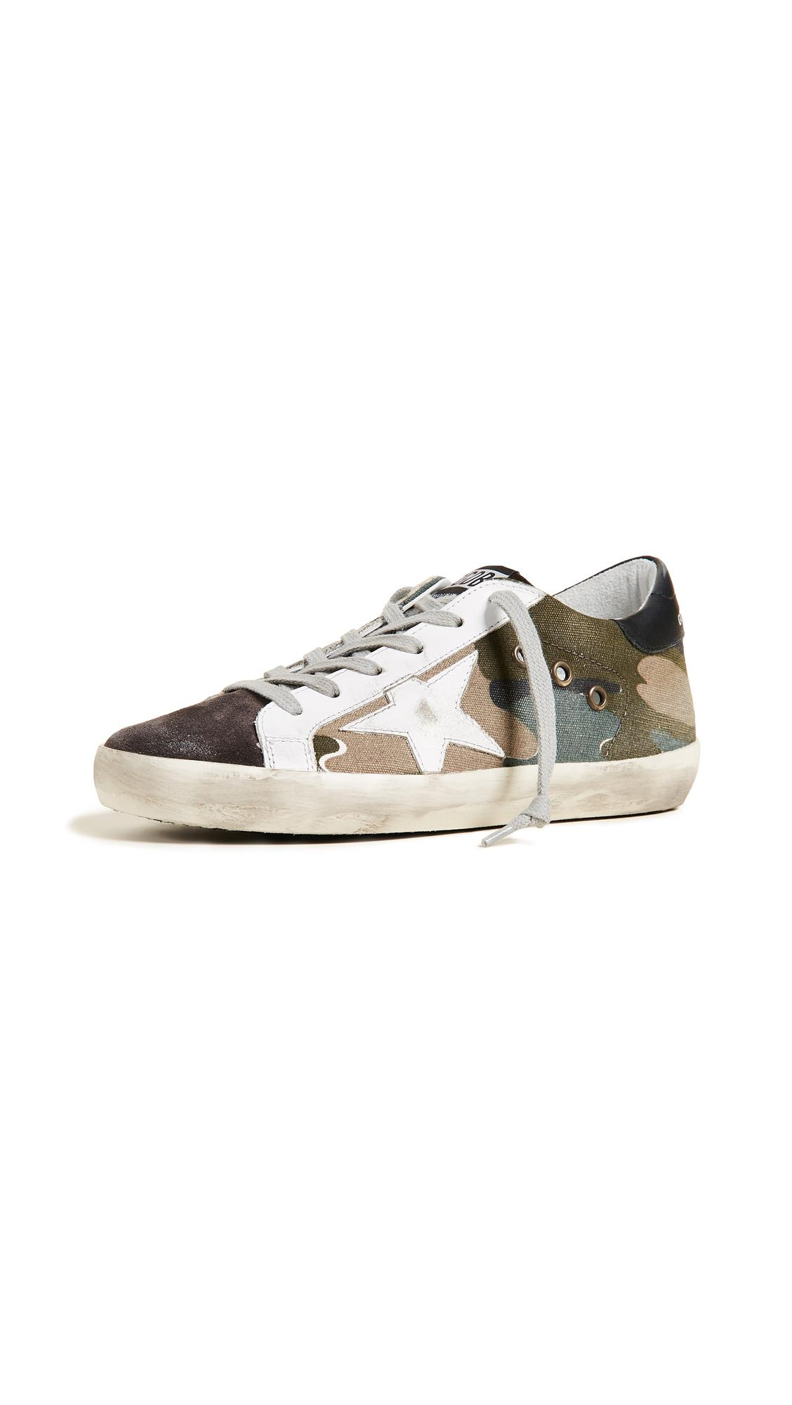 Golden Goose Deluxe Brand Goose Superstar Sneakers in Grey
