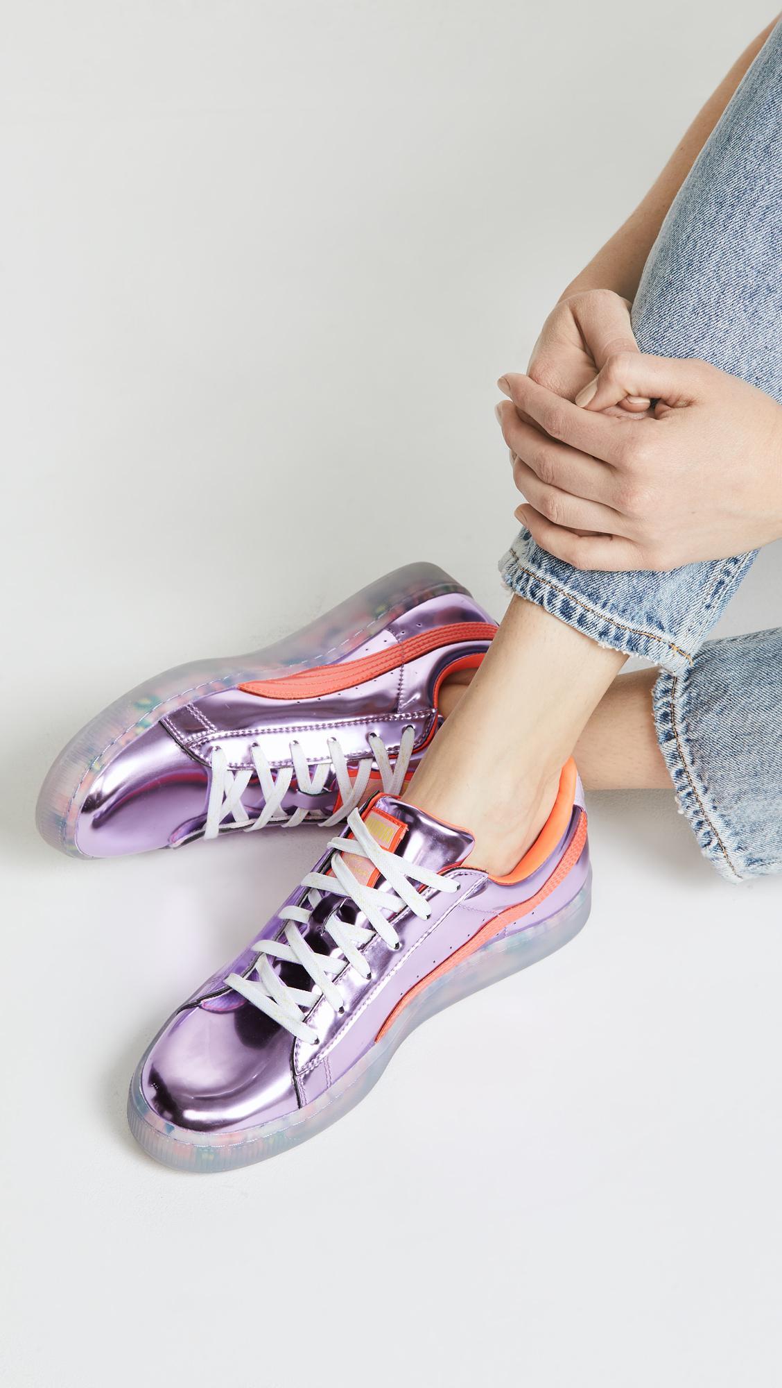 Puma Women's Thunder Sophia Webster White Sneakers 5 UK (38
