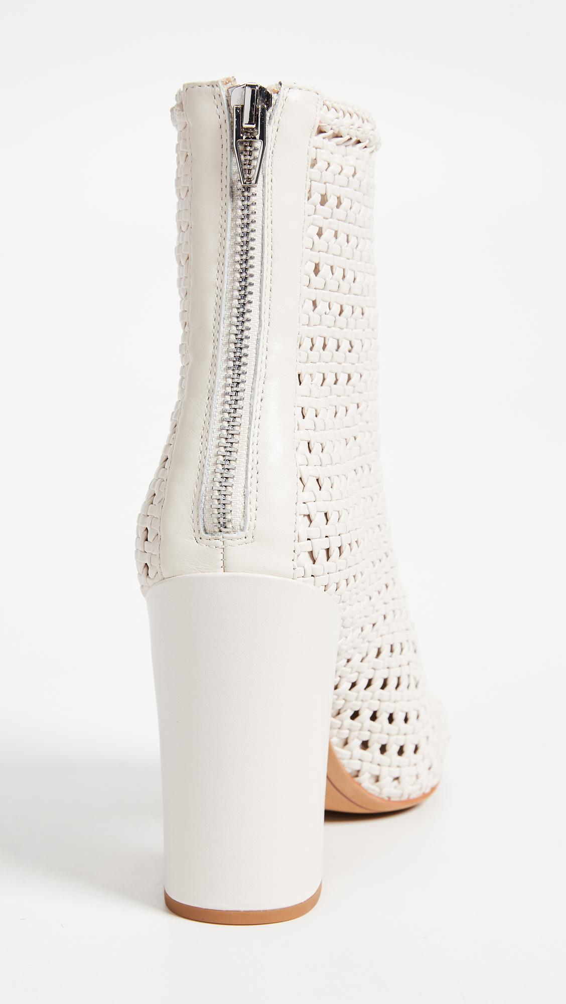 Dolce Vita Scotch Woven Ankle Boots