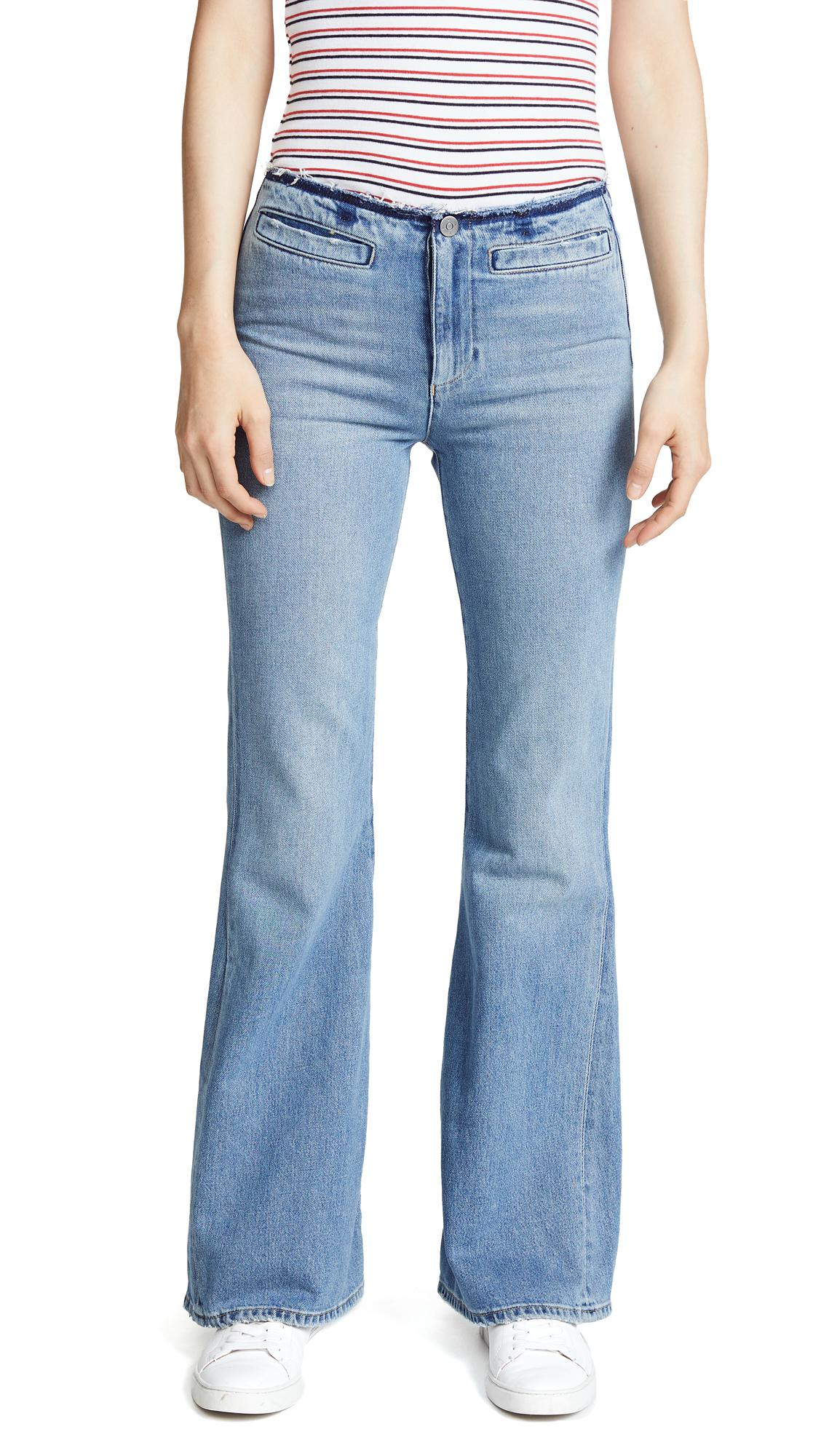 M.i.h Jeans Denim Marrakesh Flare Jeans in Blue