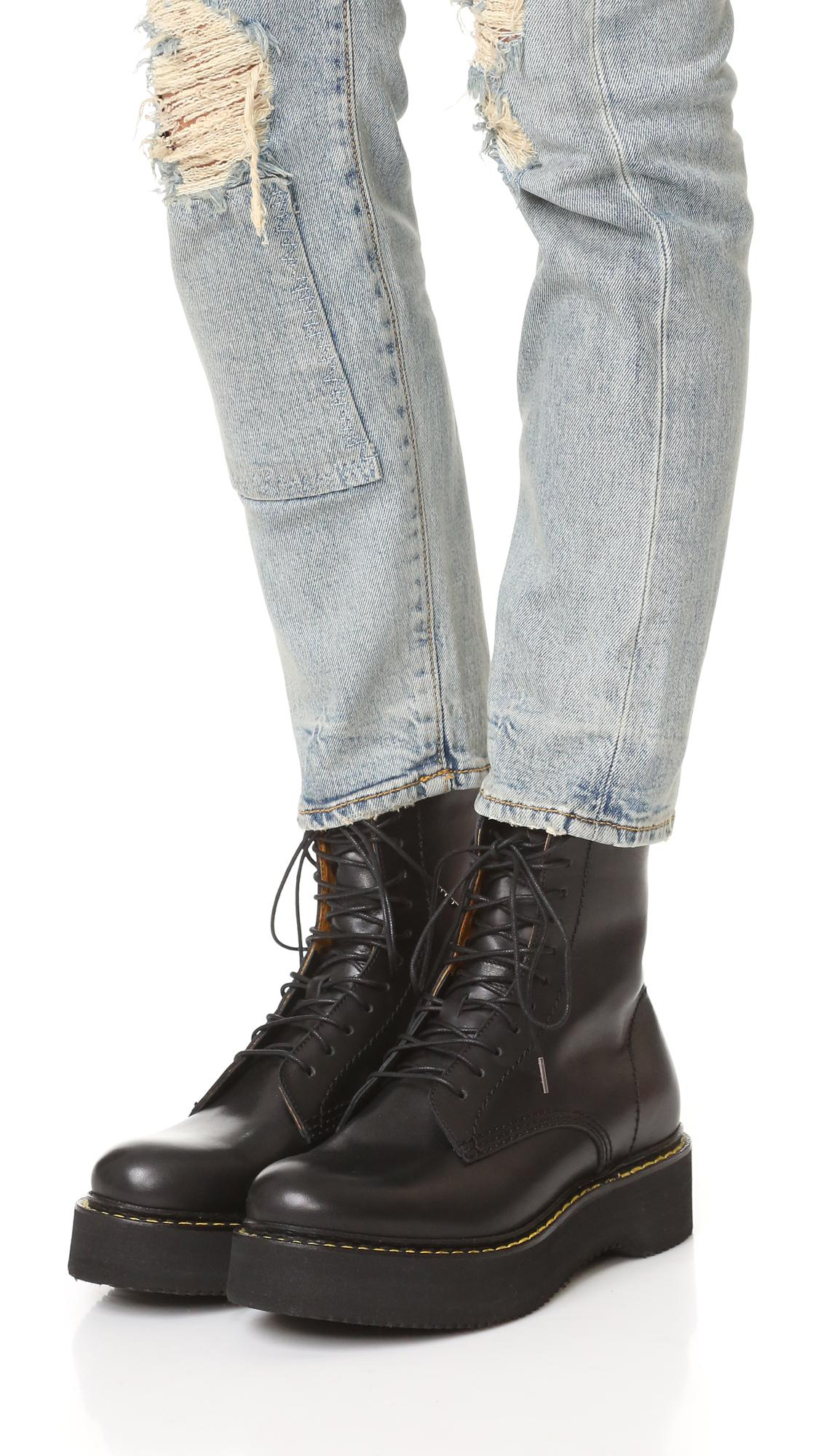 platform combat boots womens official