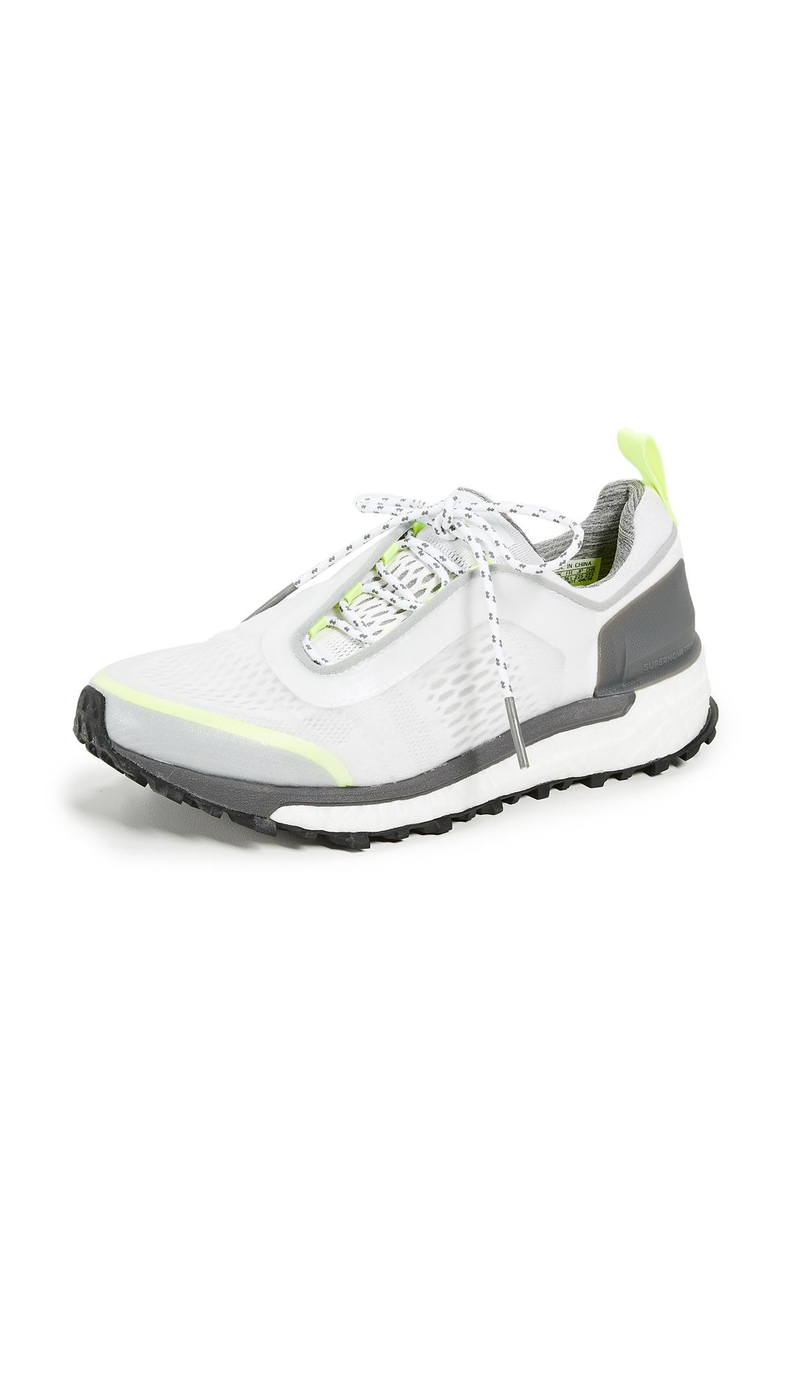 18d9e36db adidas By Stella McCartney Supernova Trail Sneakers in White - Lyst