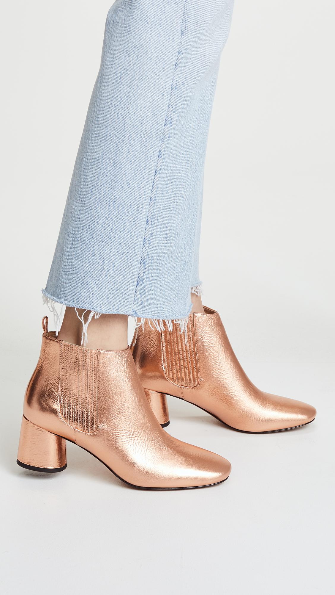 Marc Jacobs Leather Rocket Chelsea Boots
