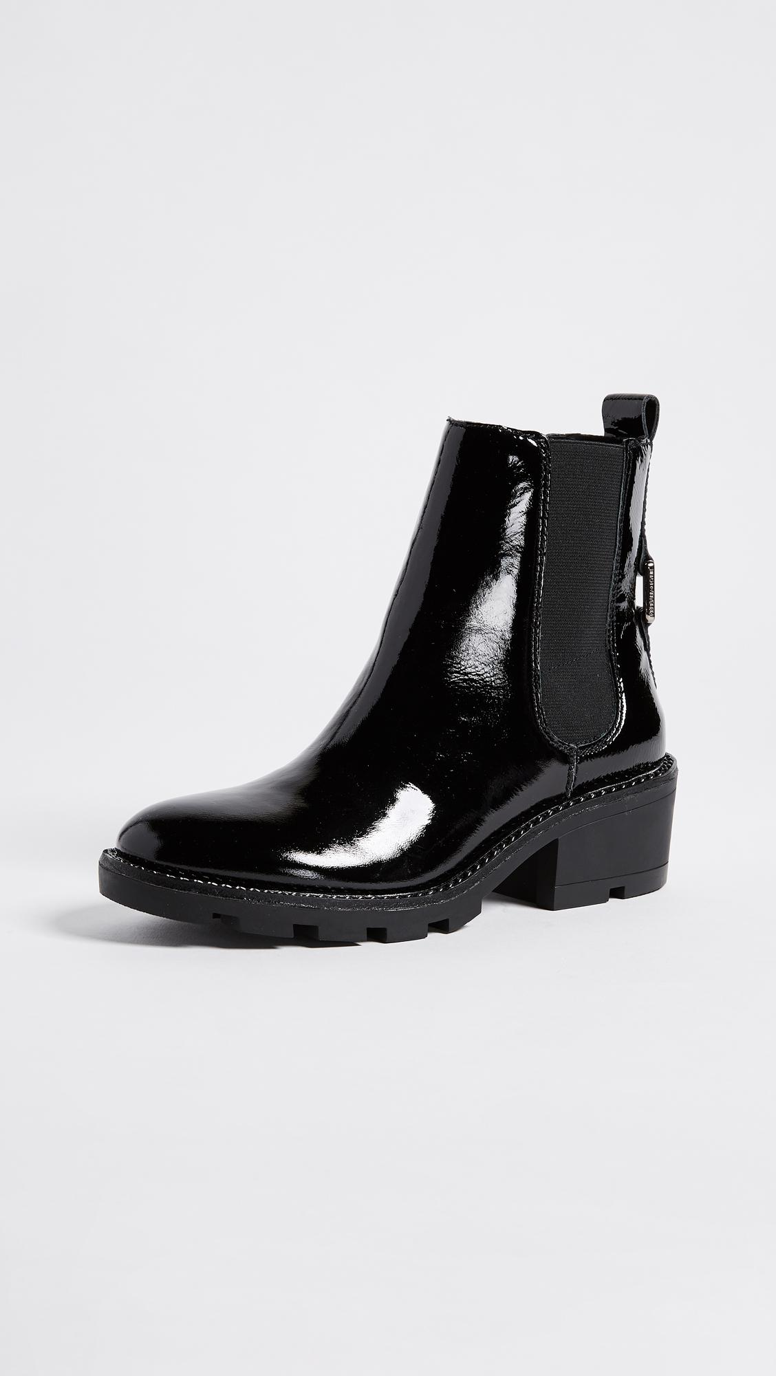 78f8321fa3b Kendall + Kylie Black Porter Chelsea Booties