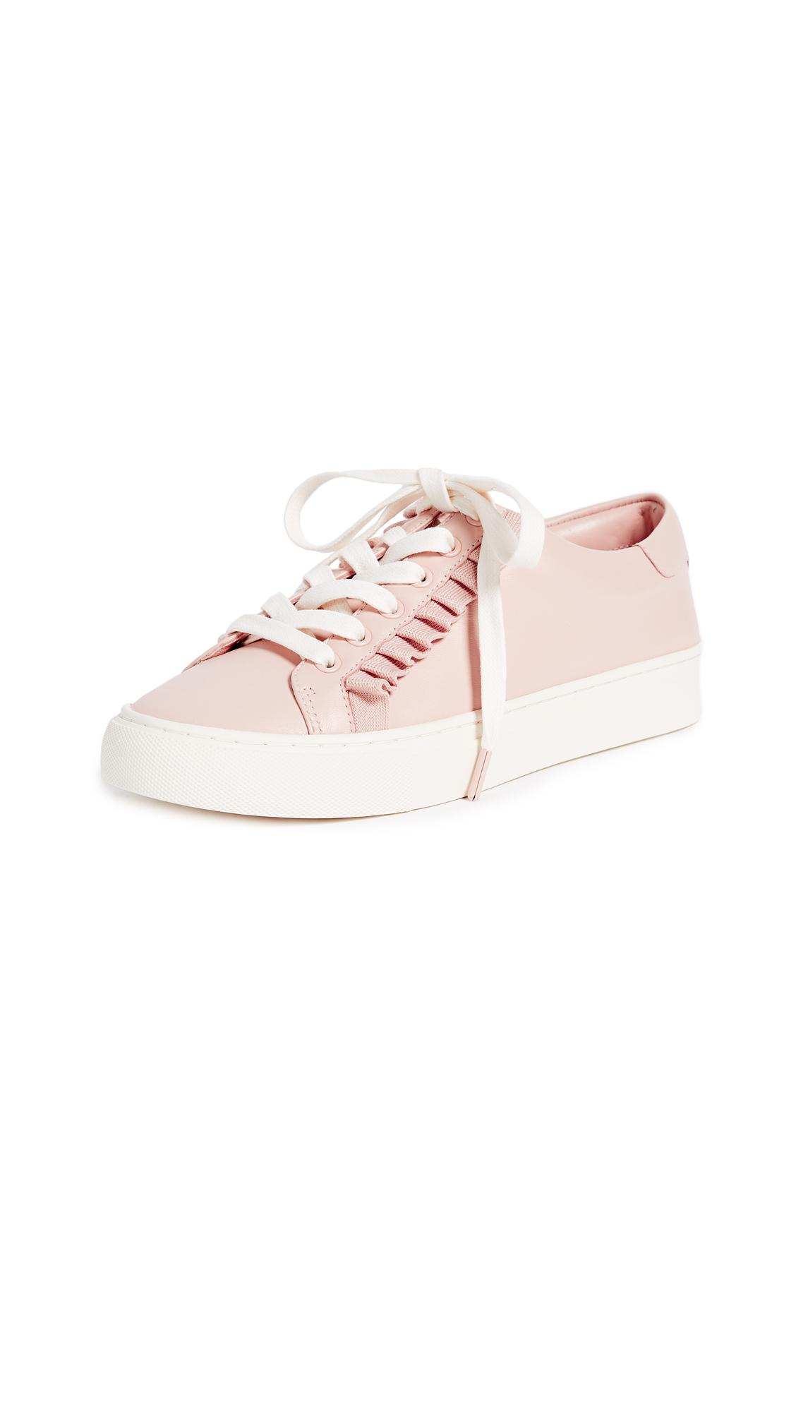 c775c08fdbdf Lyst - Tory Burch Tory Sport Ruffle Sneakers in Pink