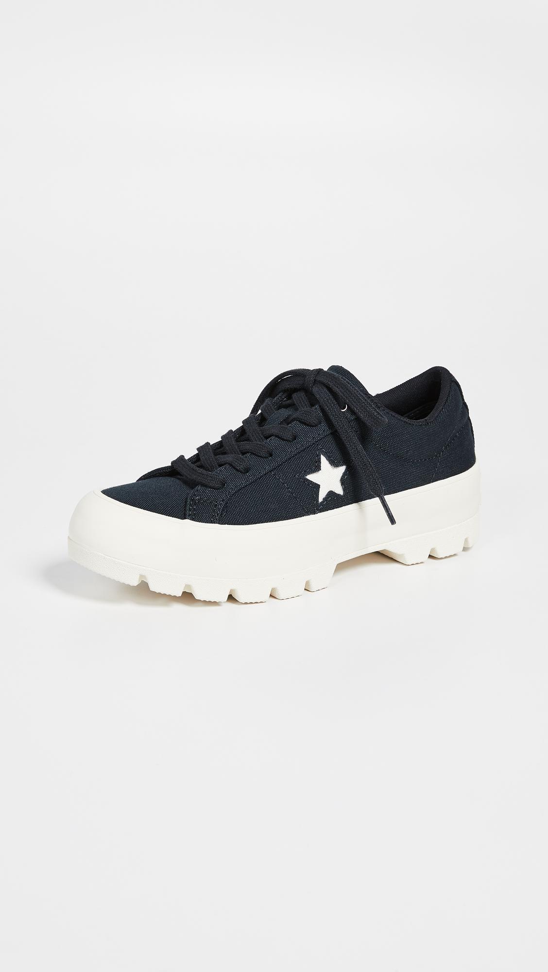 e8ba0b5ecc9721 ... One Star Lugged Ox Sneakers - Lyst. View fullscreen