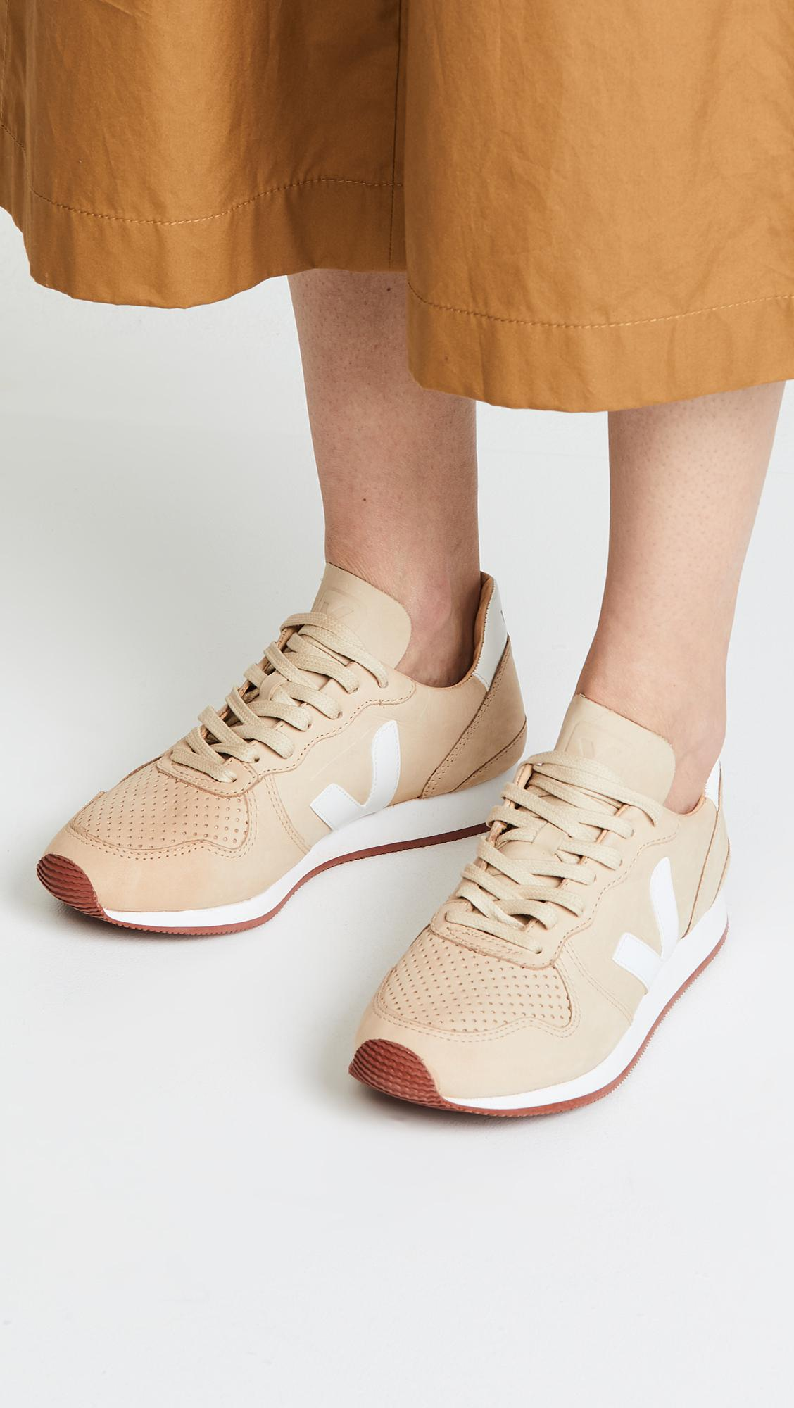 Veja Leather Holiday Bastille Sneakers