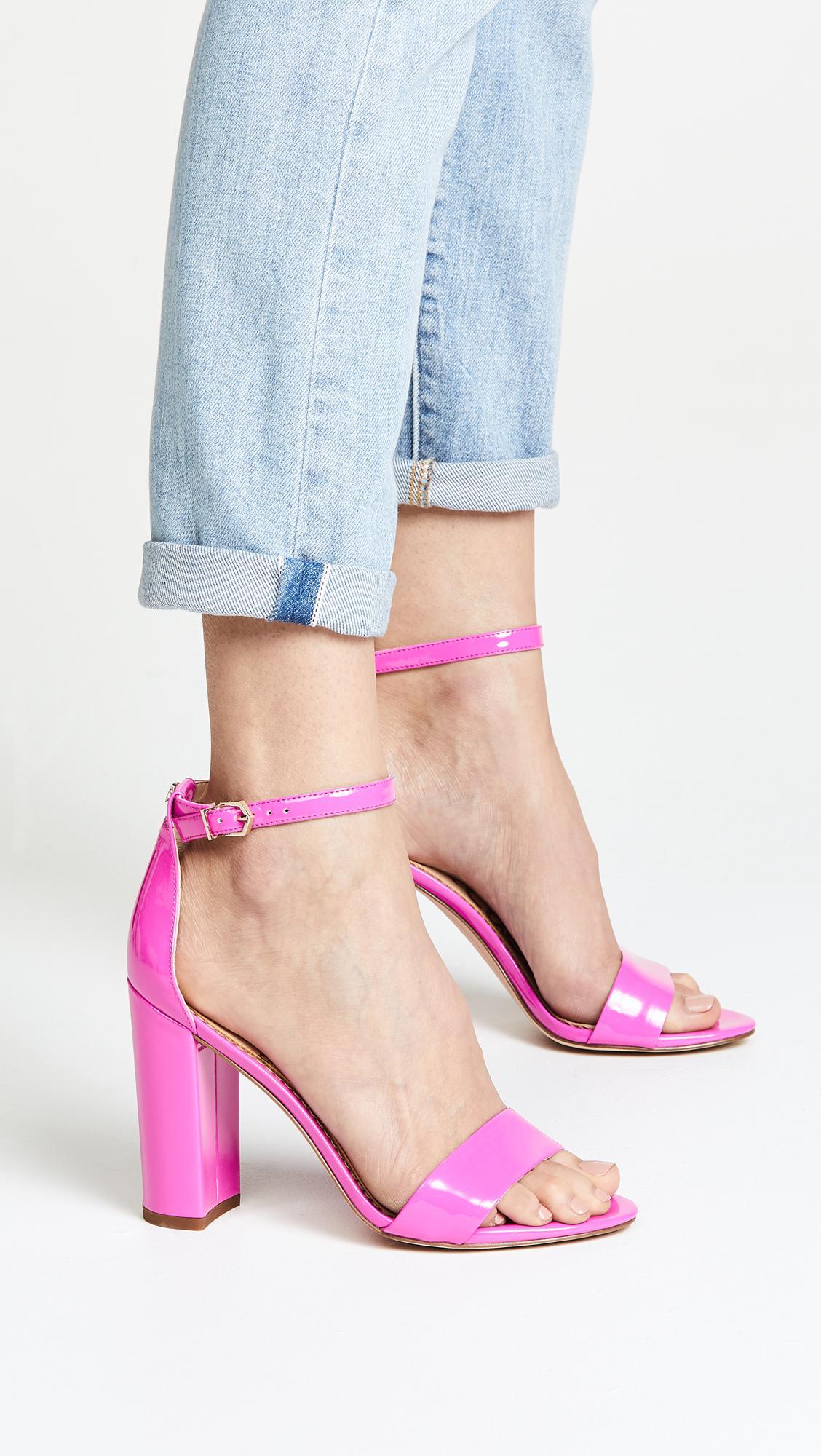 ddec7a559526 Lyst - Sam Edelman Yaro Sandals in Pink