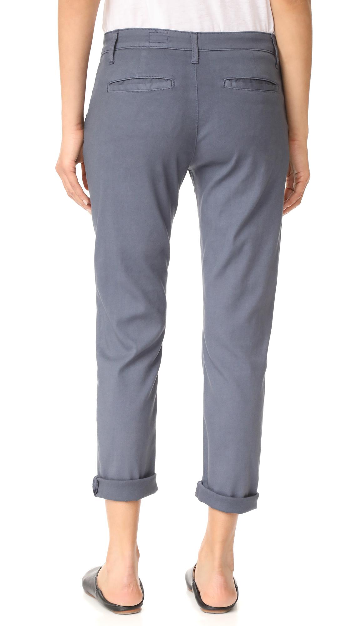 AG Jeans Cotton The Caden Tailored Trousers in Blue