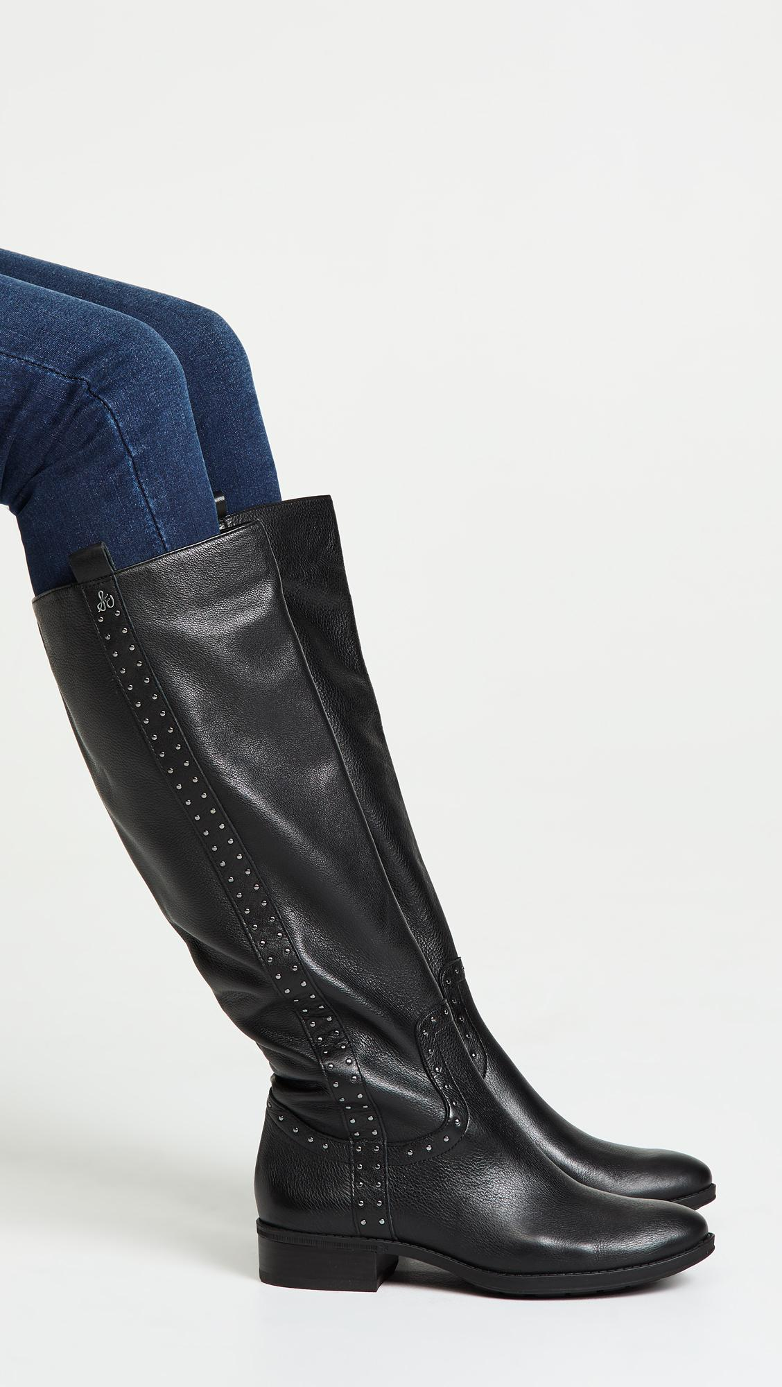 Sam Edelman Leather Prina Tall Boots in