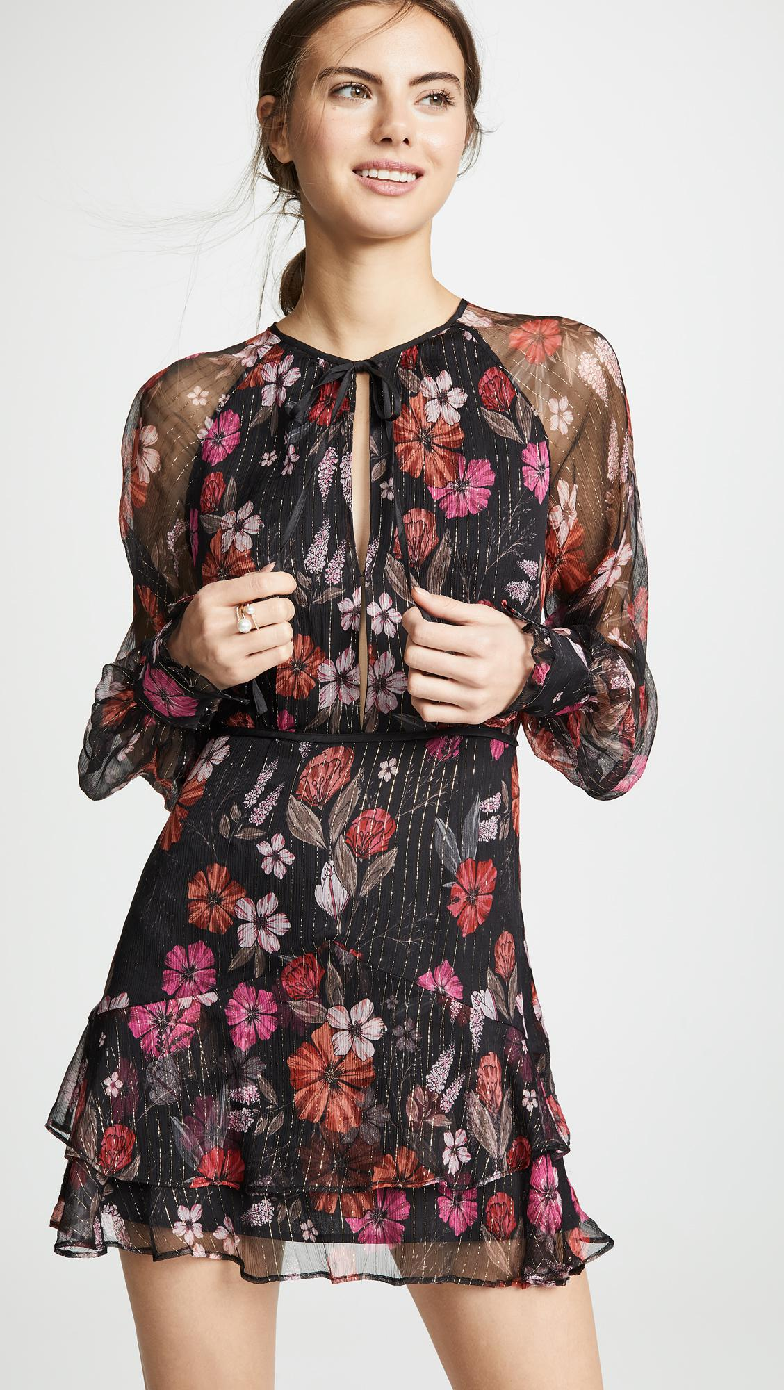416f97d56c2 Lyst - La Maison Talulah Wild Bloom Long Sleeve Mini Dress