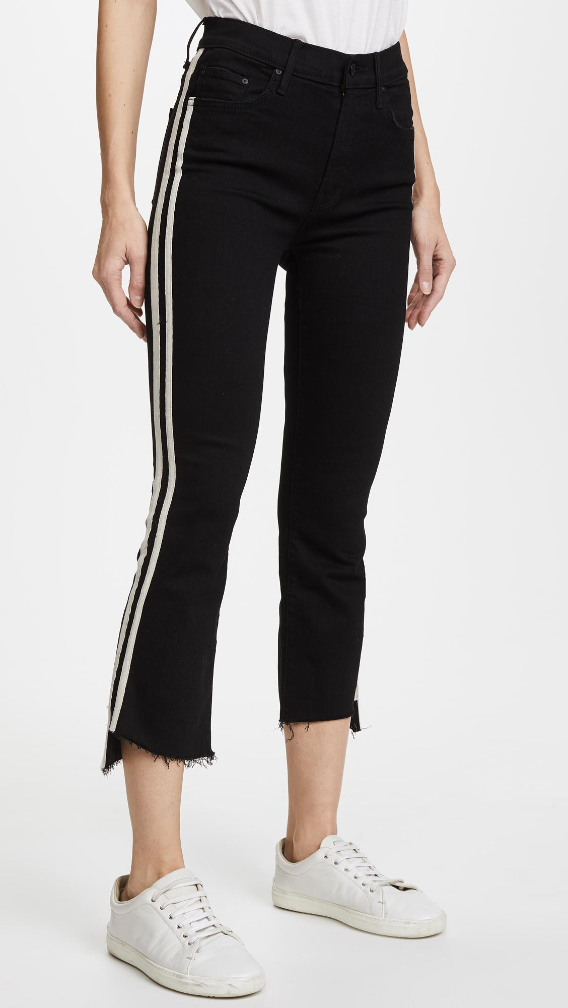 Mother Denim Insider Crop Step Fray Jeans, Not Guilty In -8756