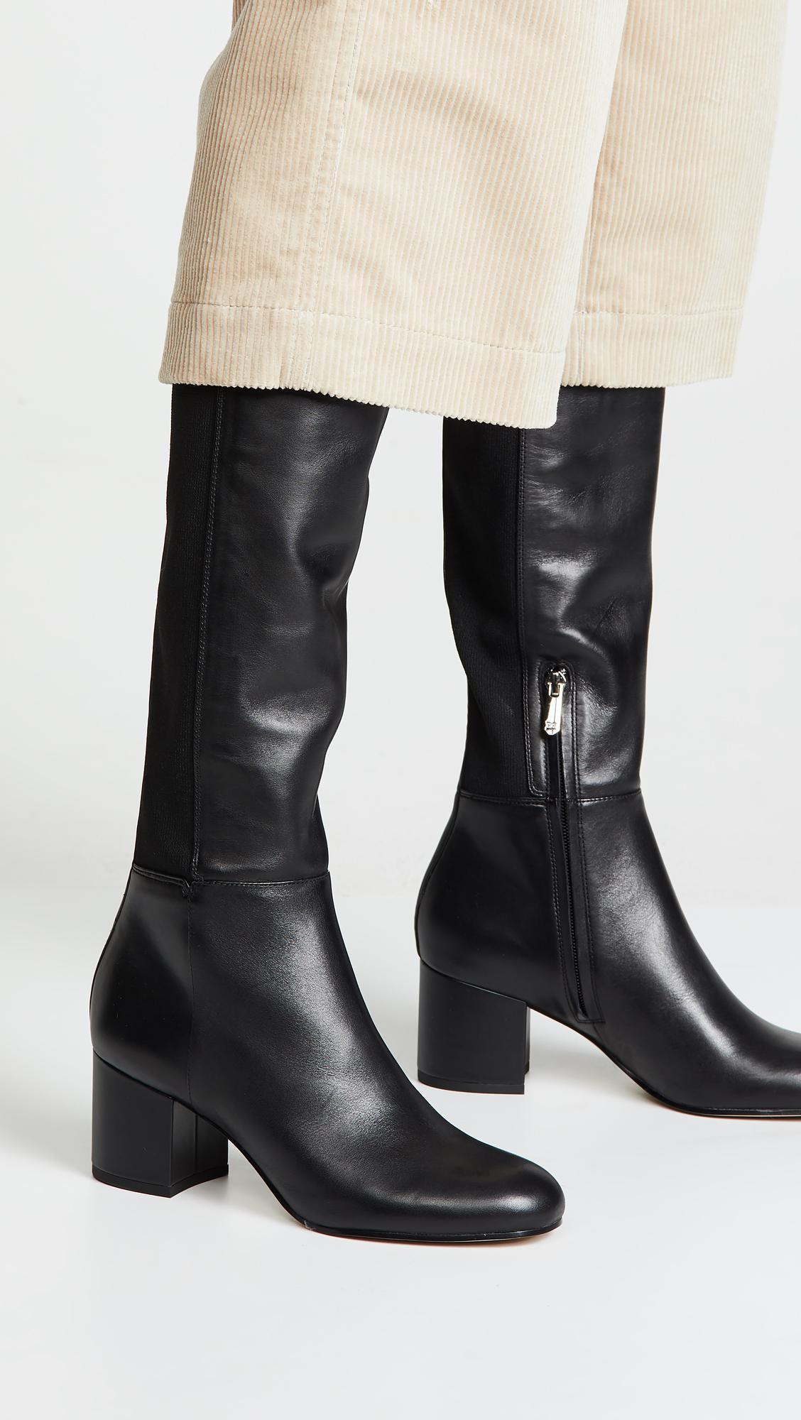 0877beadf84490 Lyst - Sam Edelman Valda Boots in Black