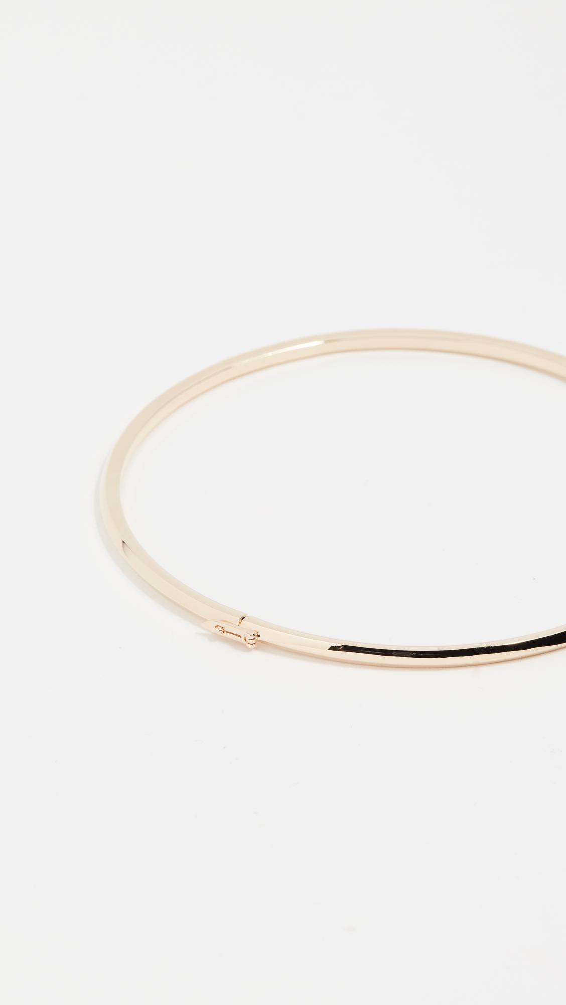 Eddie Borgo Peaked Collar Necklace in Gold (Metallic)