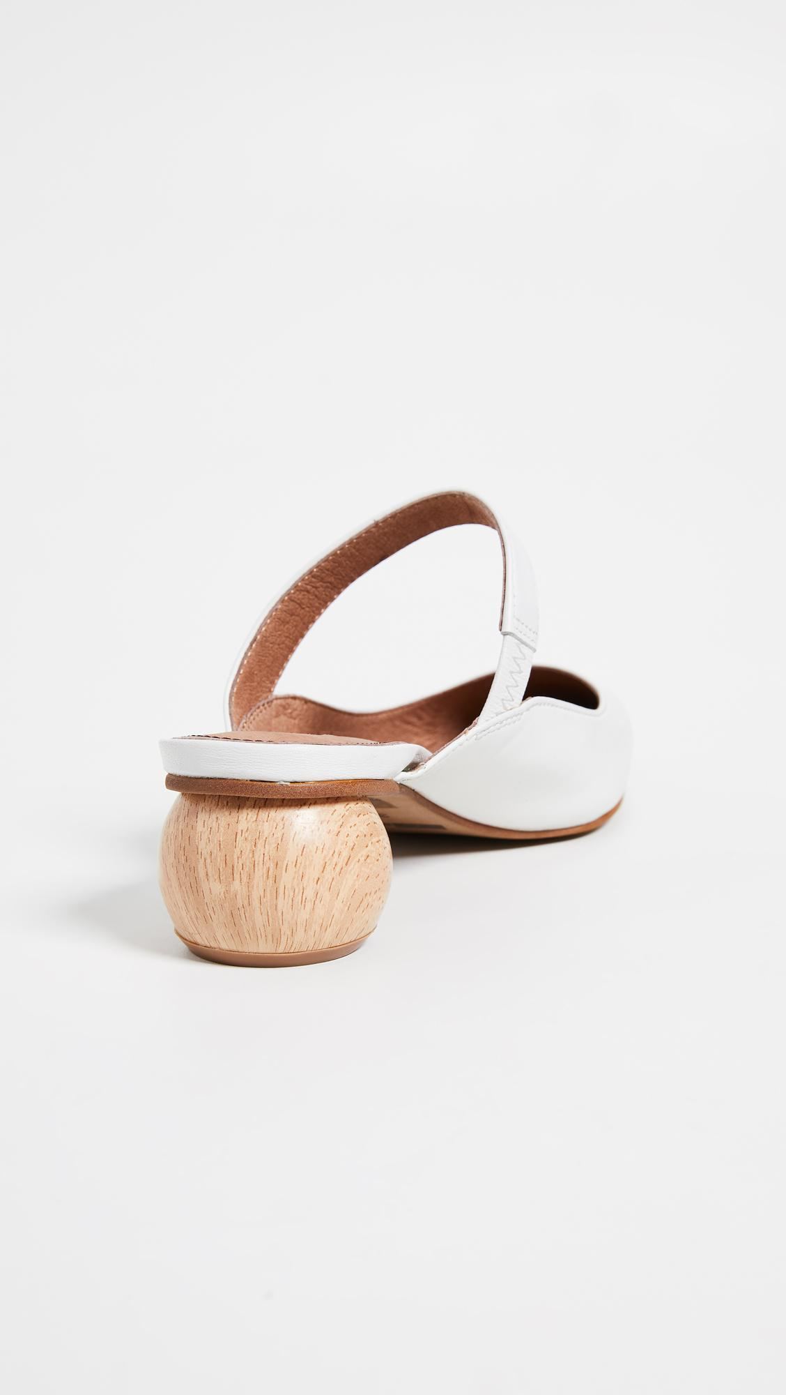 5eb75f53a38 Matiko - White Virca Point Toe Mules - Lyst. View fullscreen