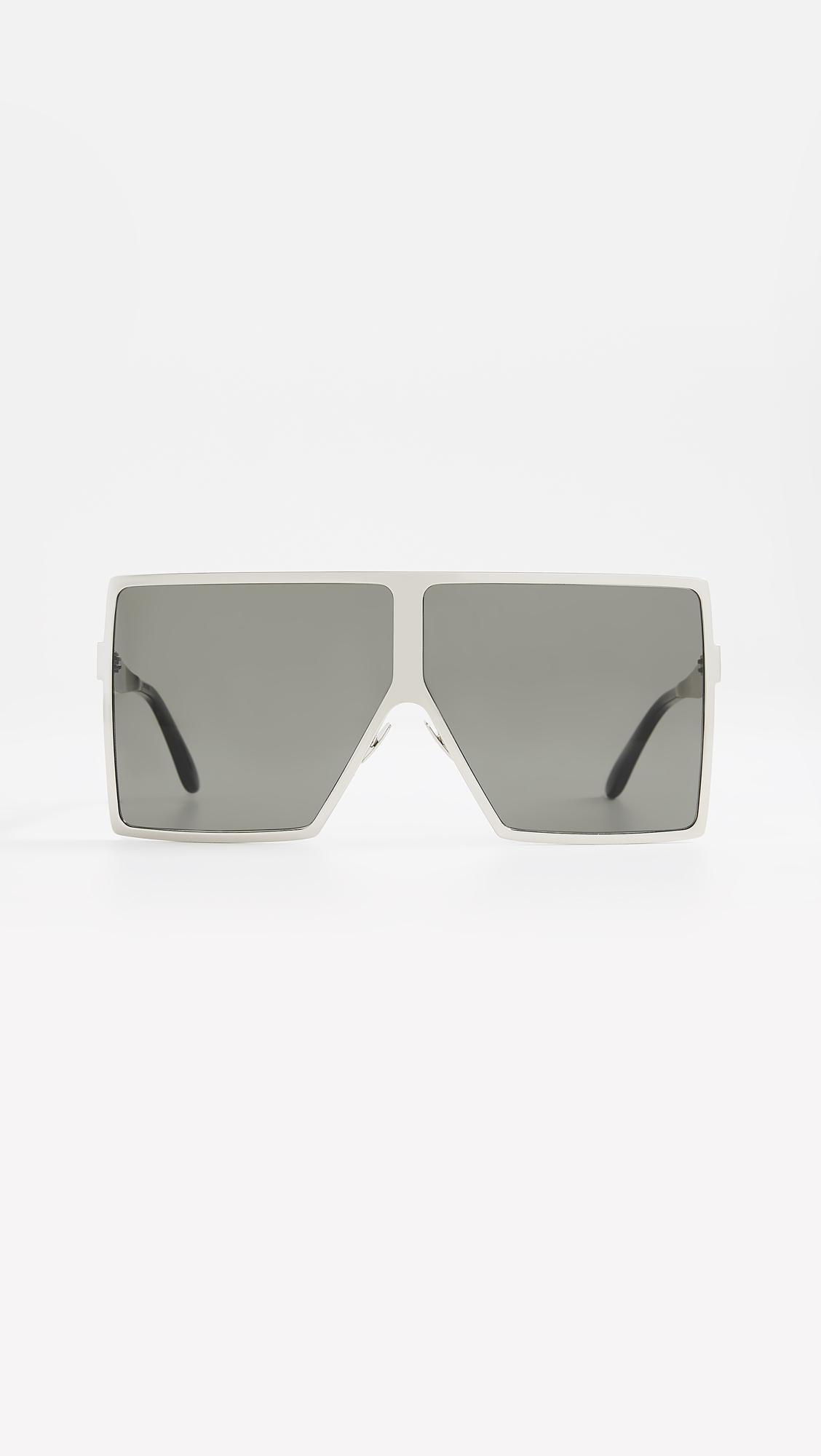 025121df46 Saint Laurent. Women s Sl 182 Metal Betty Sunglasses