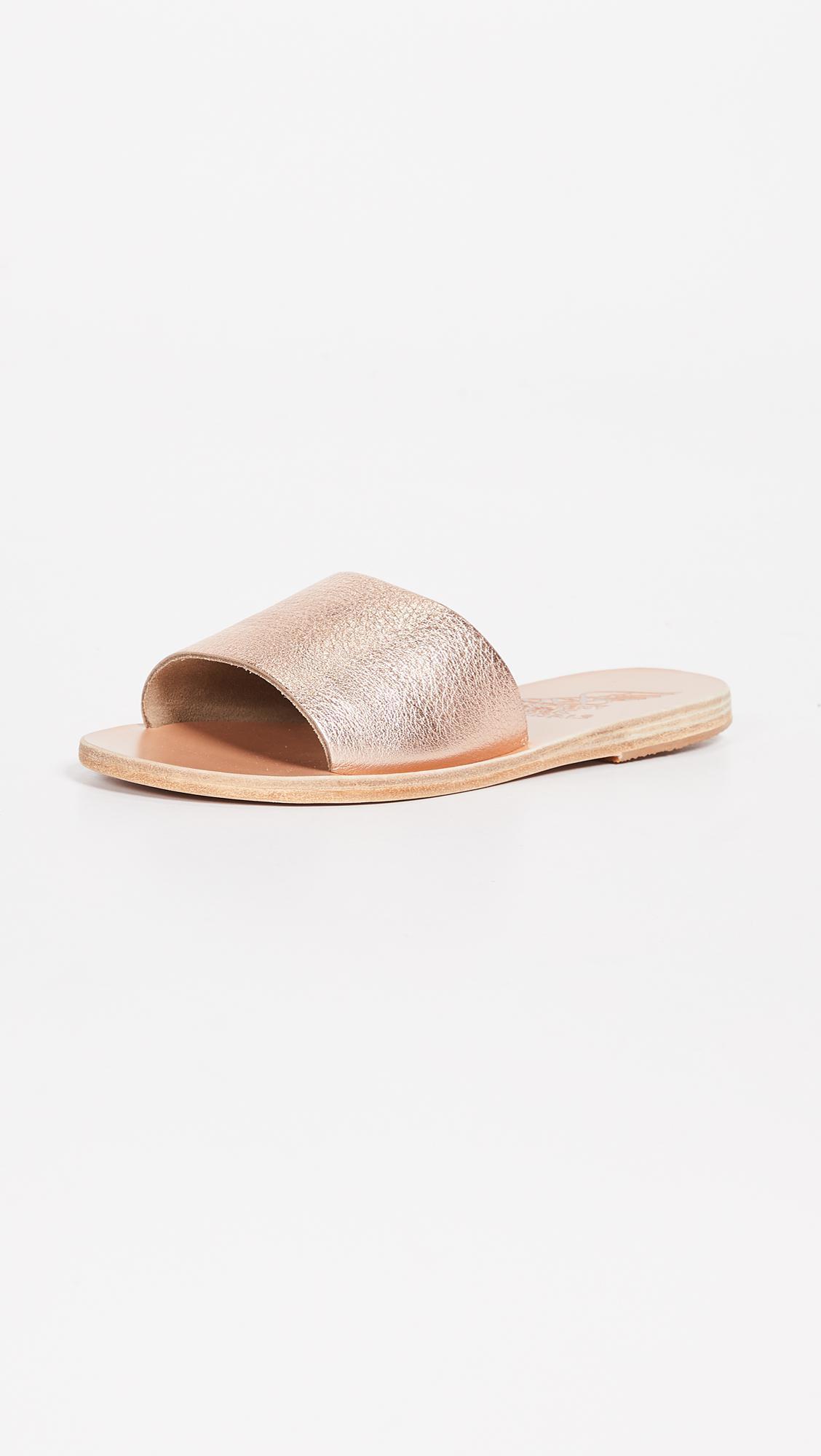 Womens Taygete Eros Leather Slide Sandals Ancient Greek Sandals Hyper Online SPC7Jsy